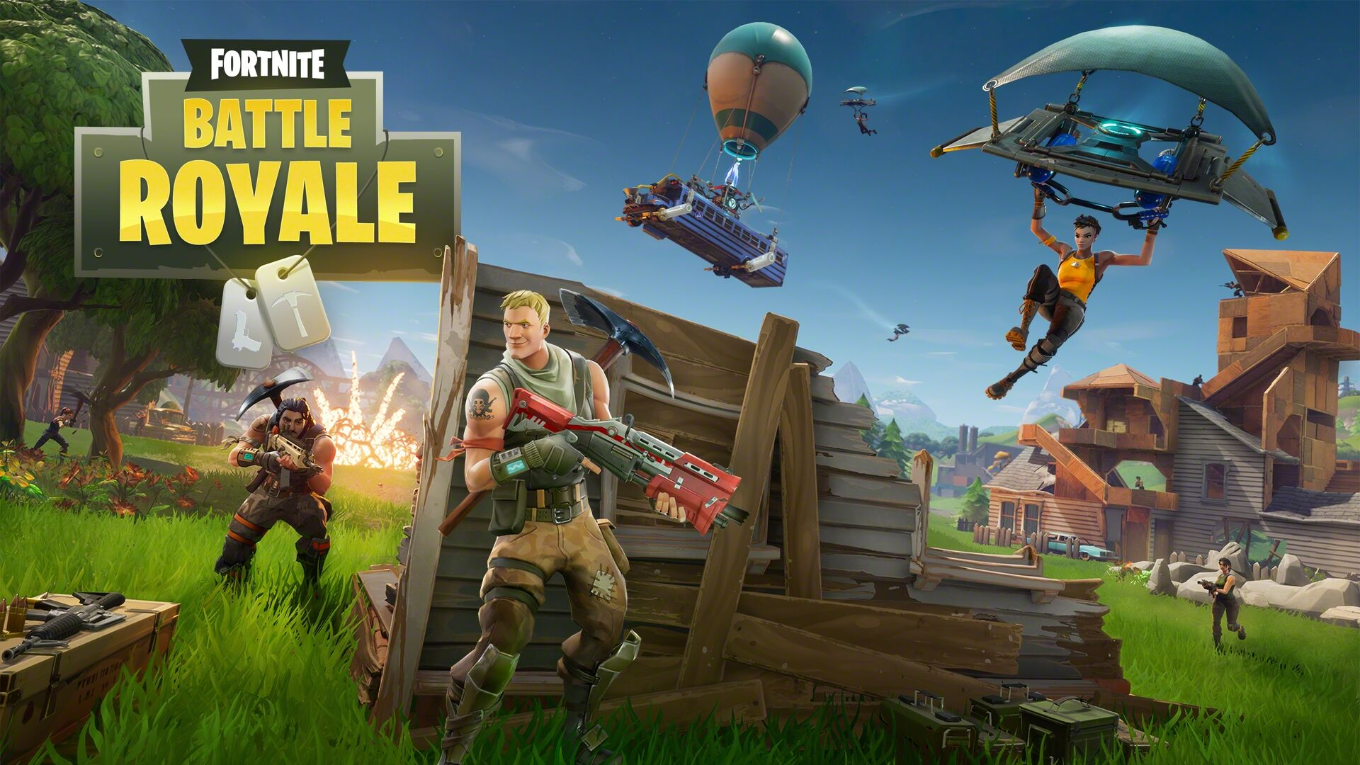 Fortnite Battle Royale Several New Skins Gliders And Pickaxes Leaked