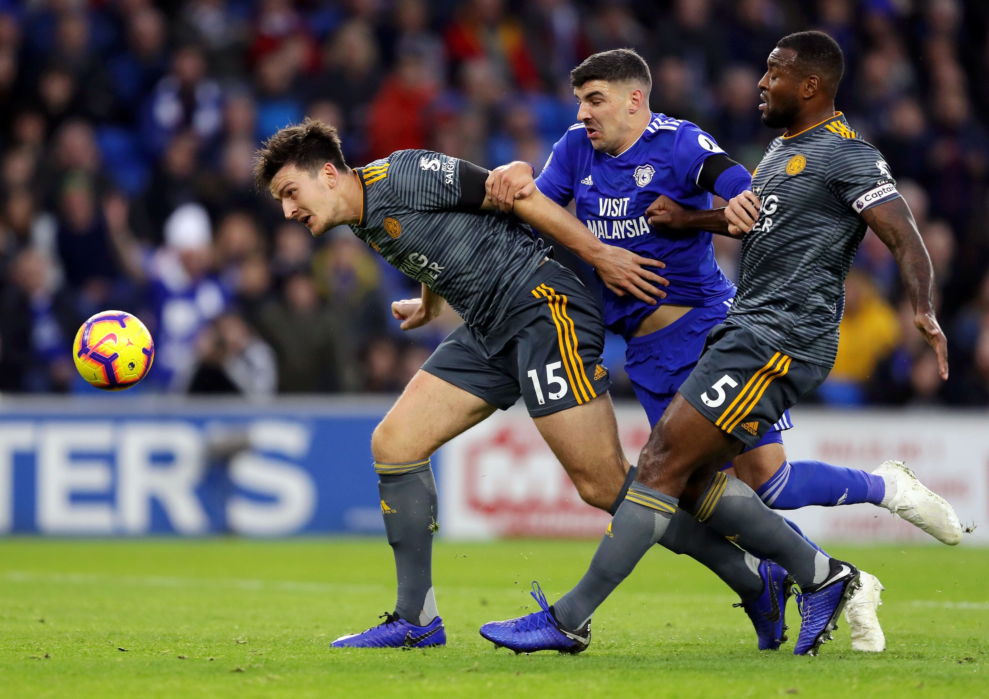 Wes Morgan's form may keep Harry Maguire on the sideline