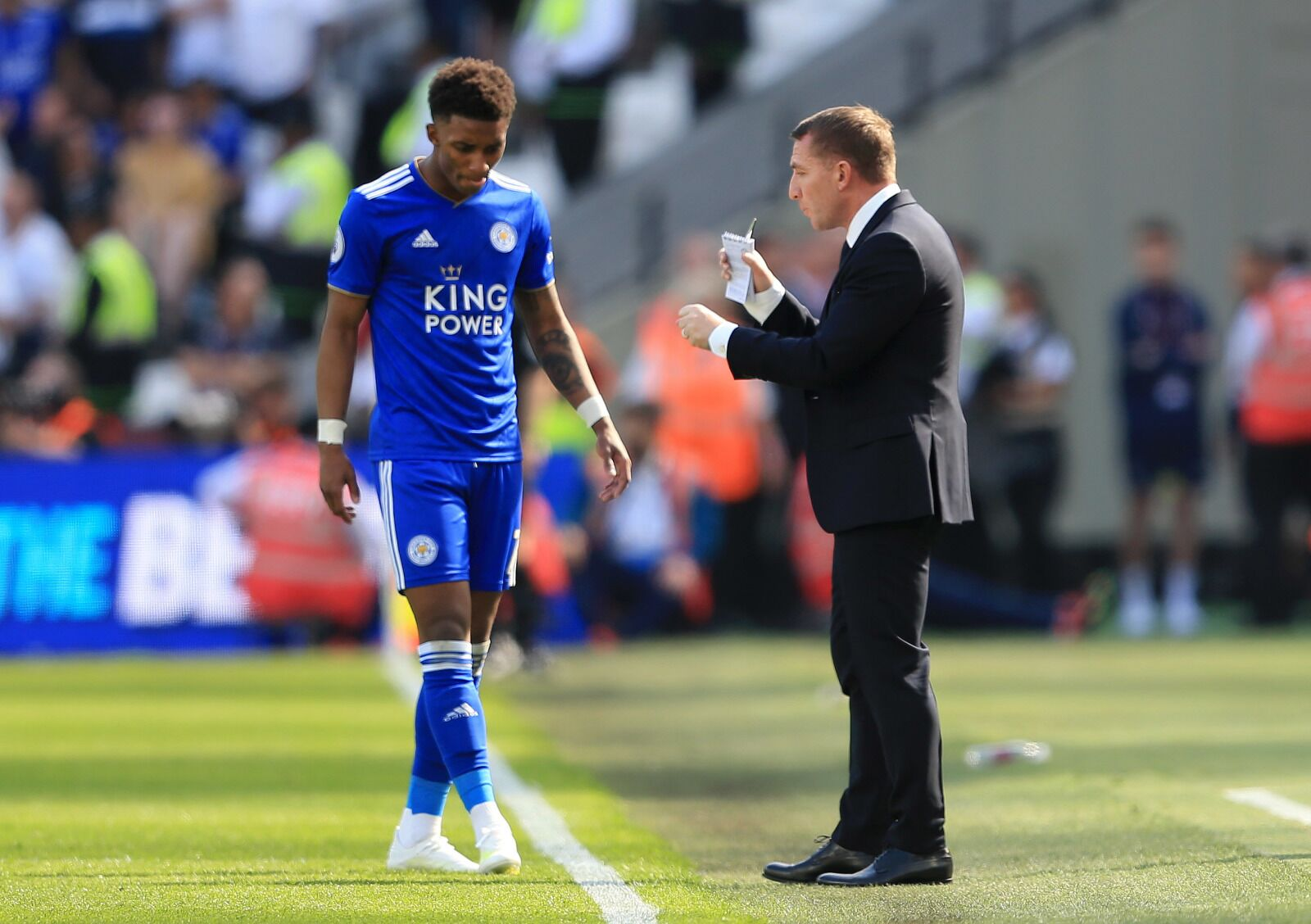 Demarai Gray knows what he must do to become a Leicester City legend