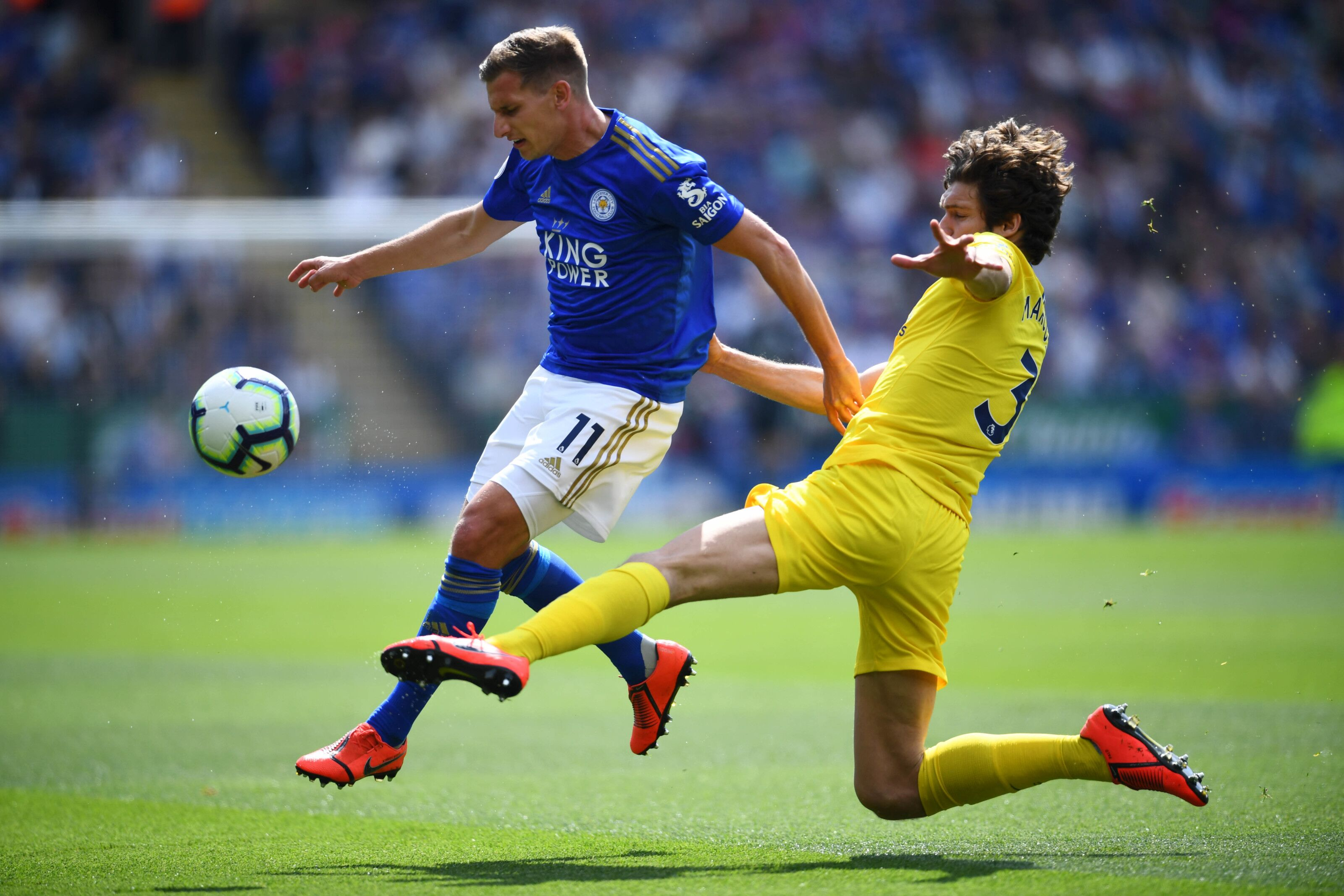 Expect Marc Albrighton to be less involved for Leicester City in 2019/20