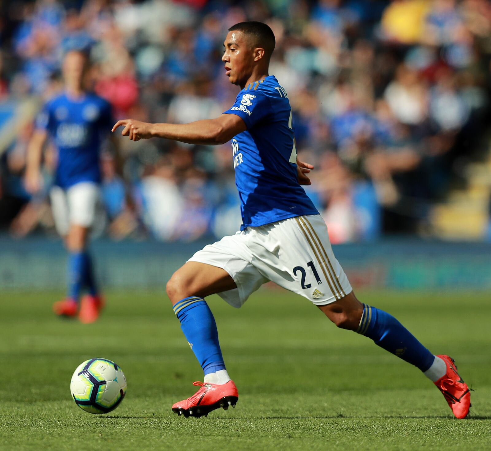 Youri Tielemans chose Leicester City over Manchester United