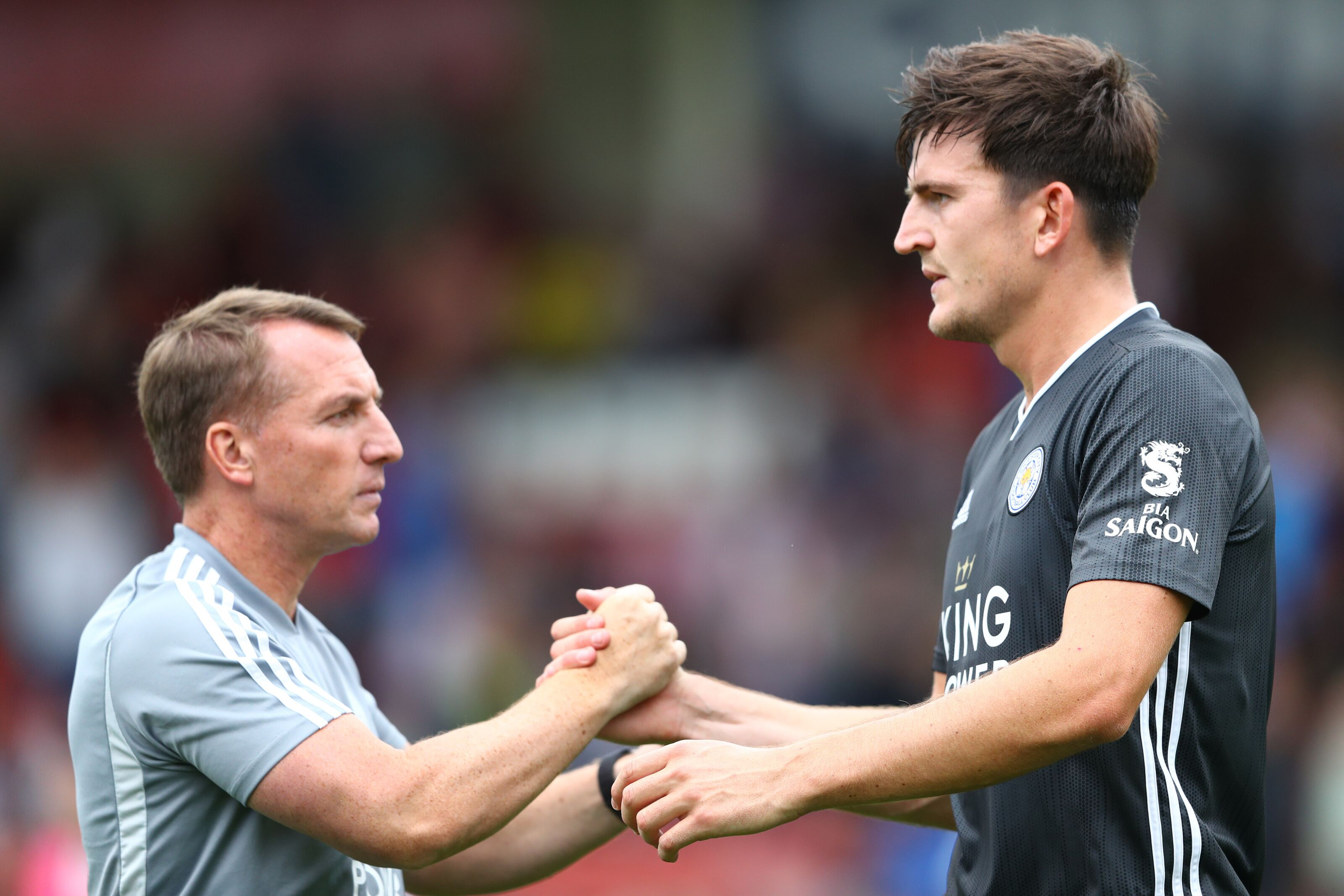 Leicester City boss on Harry Maguire: 'We don't want or have to sell – he fits'