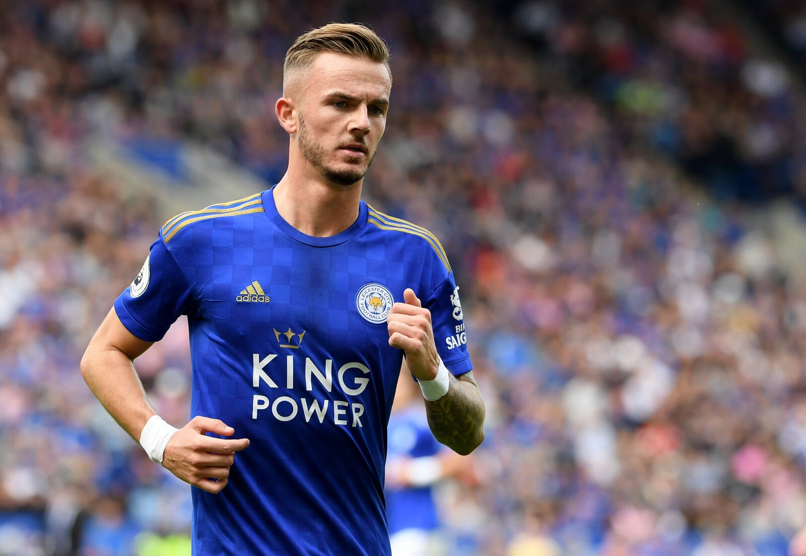 Brendan Rodgers launches defence of James Maddison