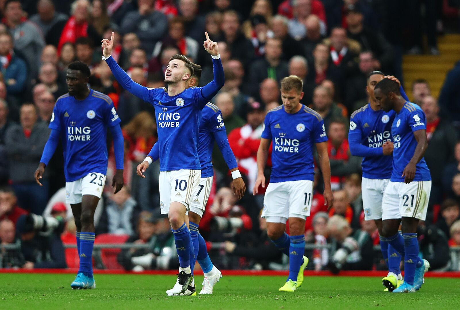 Leicester City picked as the Premier League team of the season