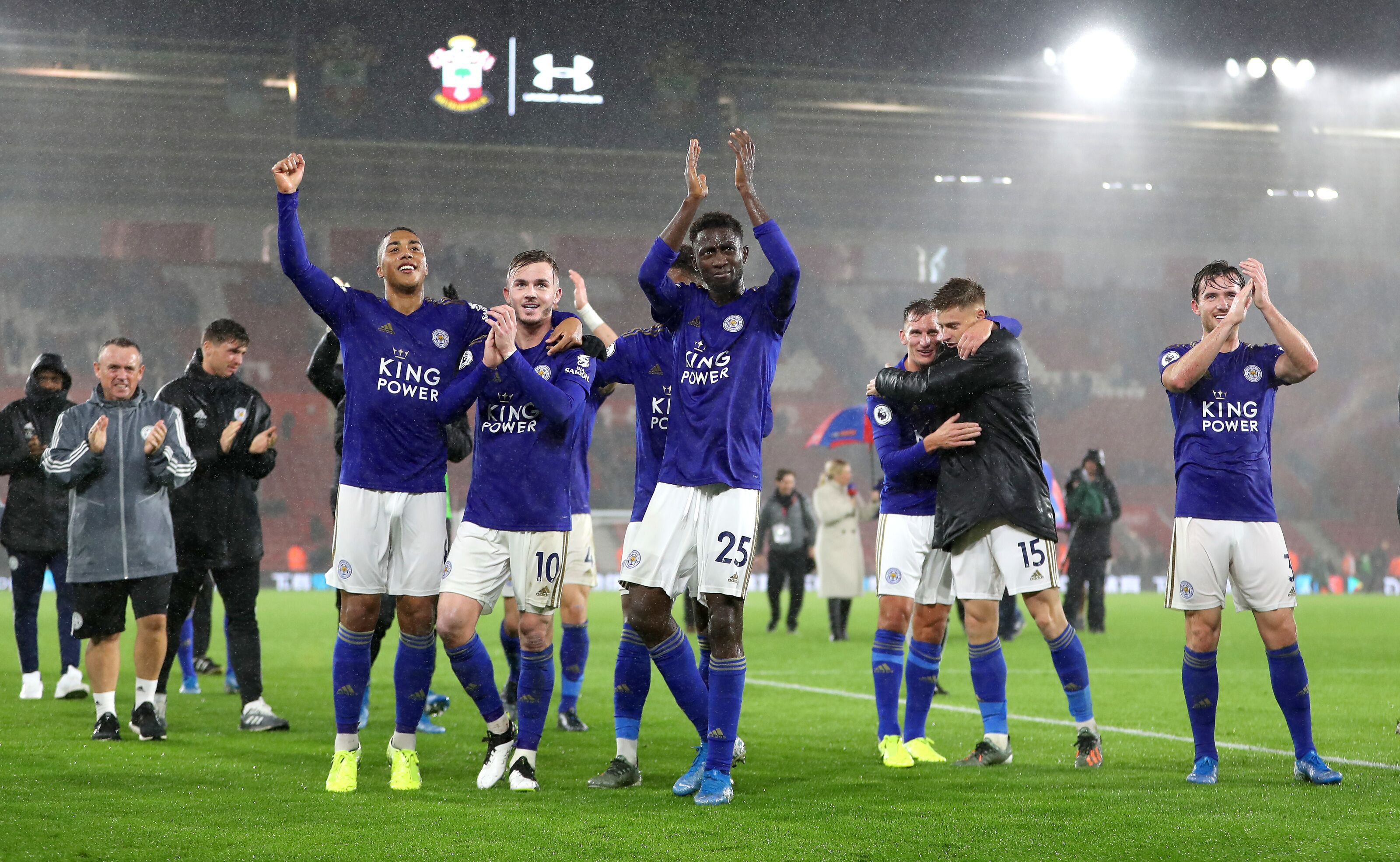 Leicester's midfield three as good as any other trio – Graeme Souness