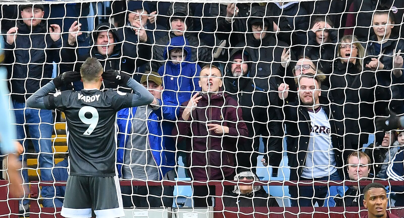 Opposition fans' comeuppance from taunted Jamie Vardy: Leicester