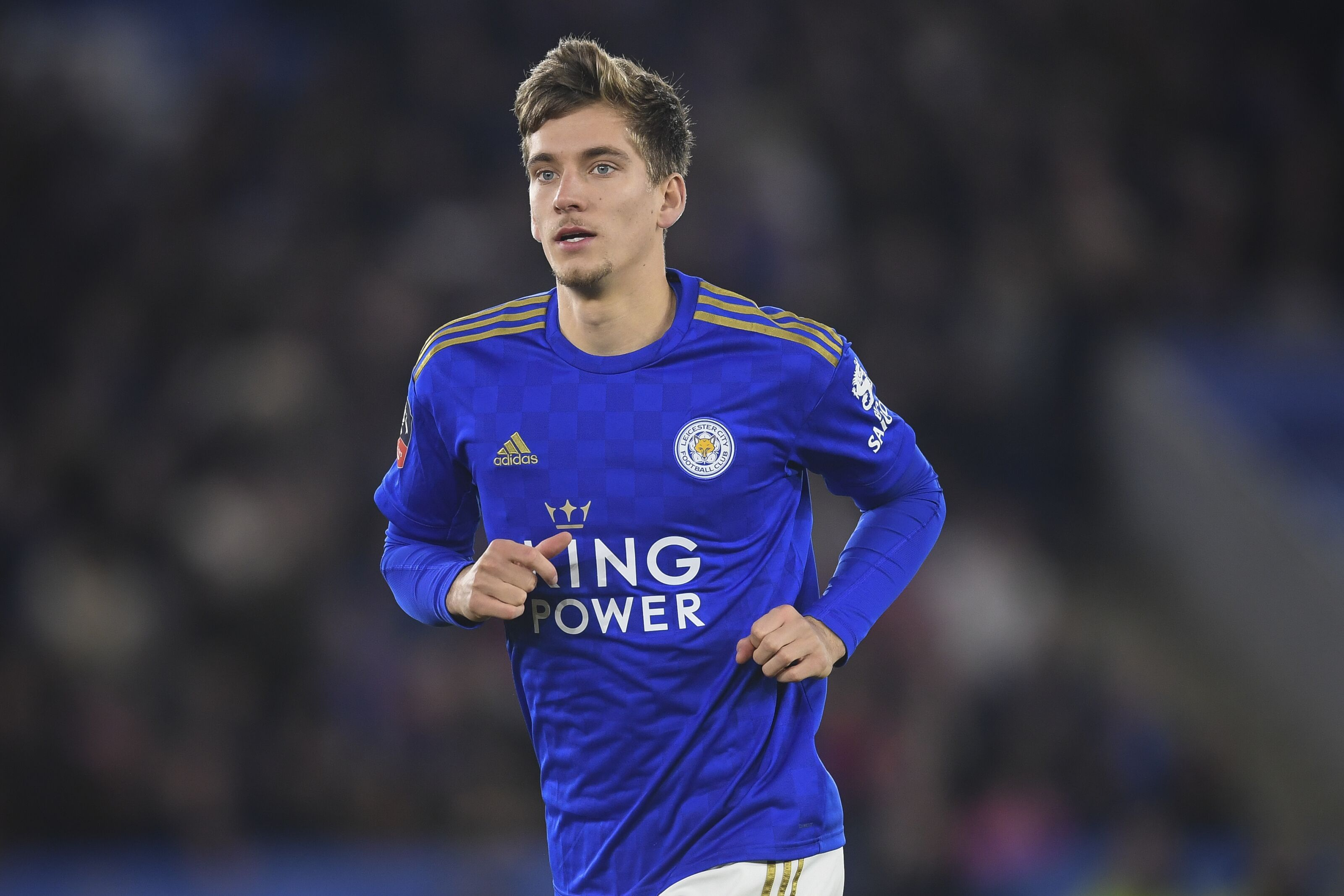 Dennis Praet shows his class for Leicester