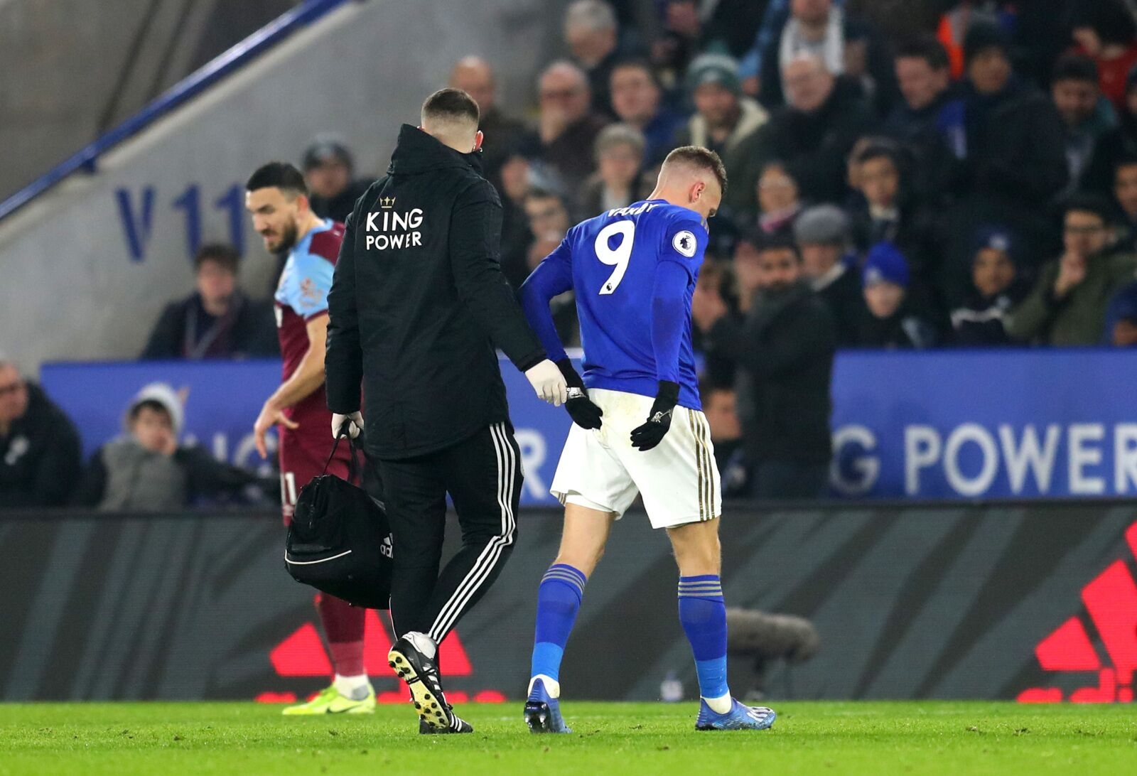 Good news on Jamie Vardy's injury, could play in vital Leicester game