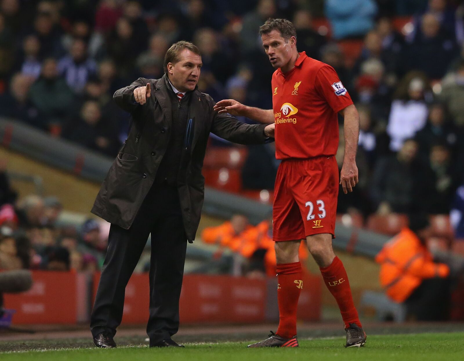 Brendan Rodgers apologizes for ruining Jamie Carragher's career: Leicester