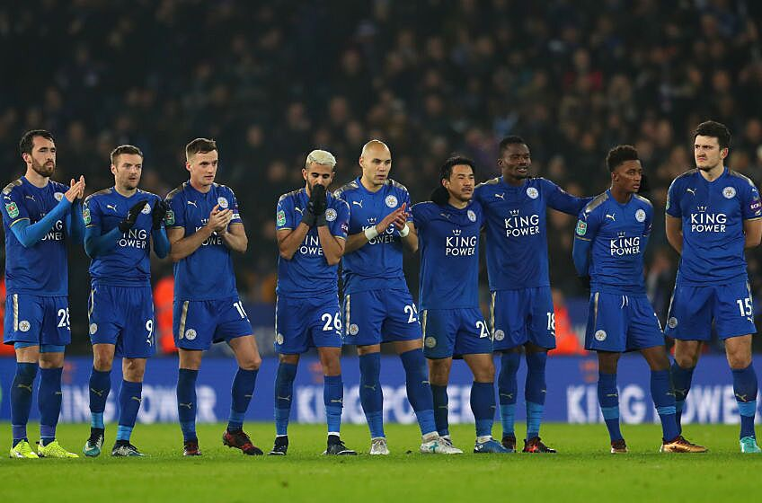 Image result for leicester city players