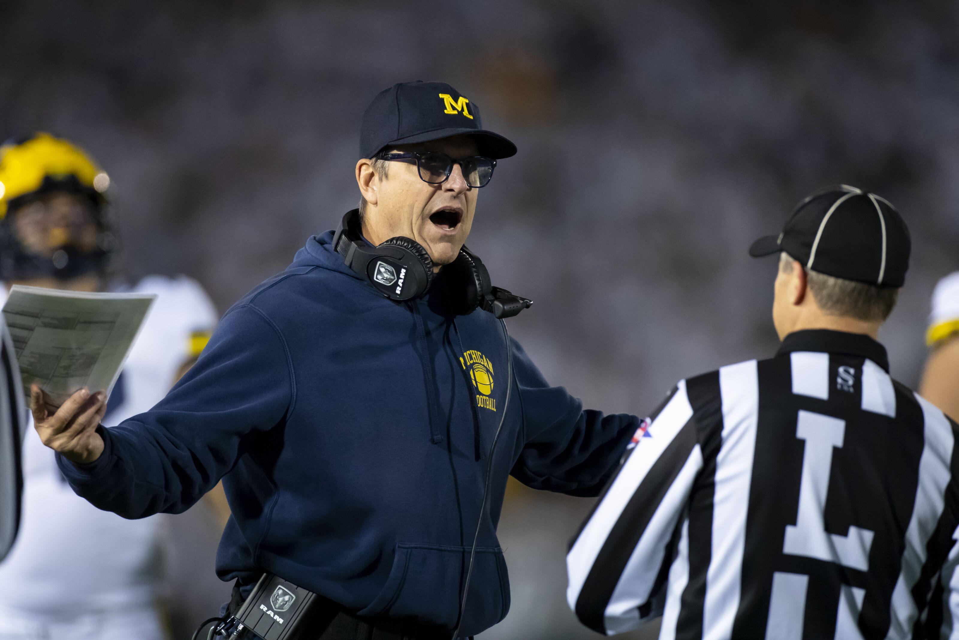 Michigan Football: ASU president looks ridiculous criticizing Jim Harbaugh