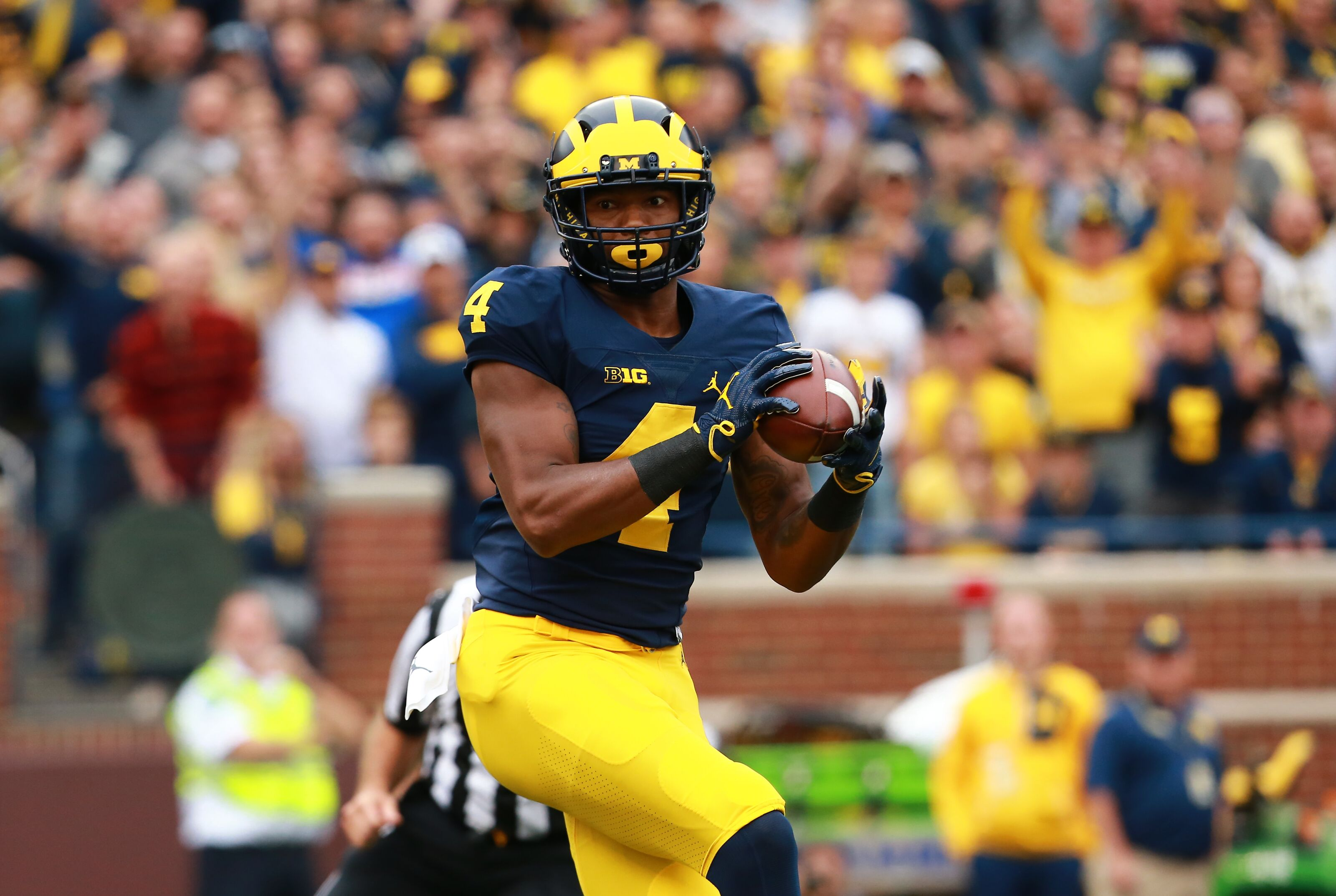 e3df87094cafcc Wide receivers will need to carry the Michigan football offense