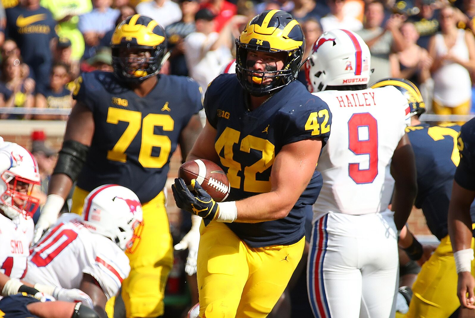 Against A Nebraska Team That Is Better Than It Looks Michigan Football Dominated Saturday Showing Signs Of Being A Big Ten Title Contender