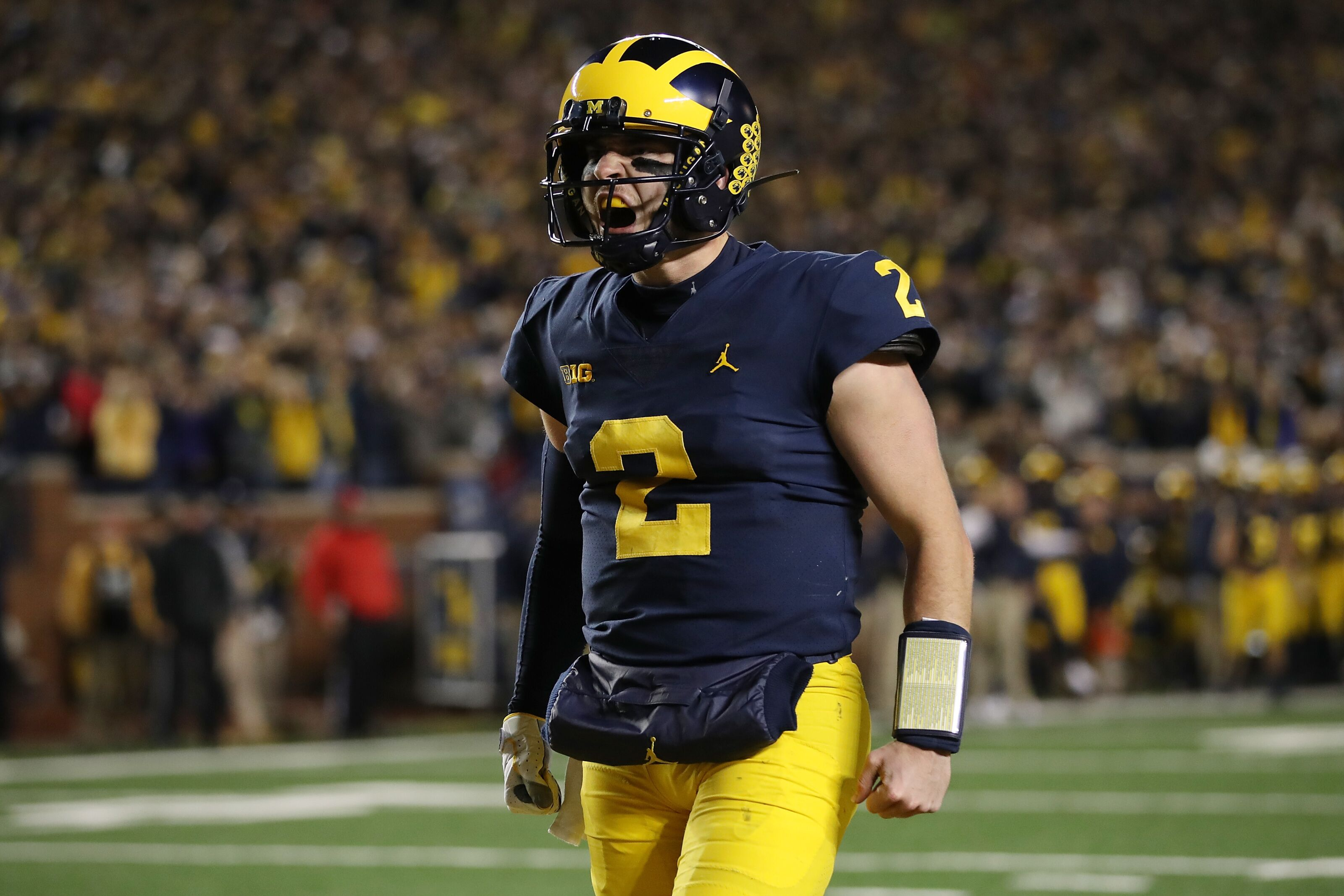 e9424cd5d28 Michigan Football: Will Shea Patterson leave early for the NFL?