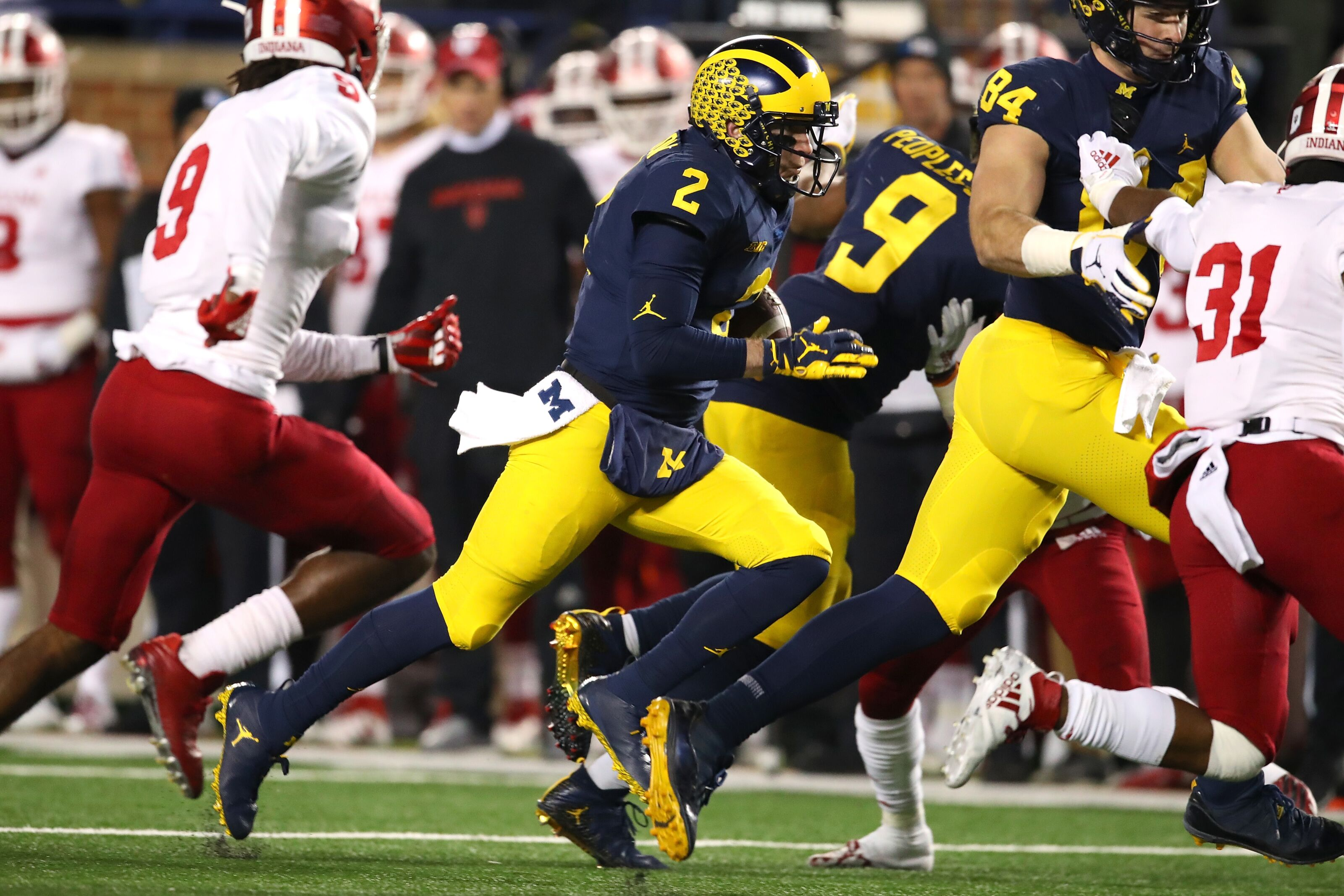 a1a62b77448 Michigan Football  3 Wolverines rank among top 2020 draft prospects