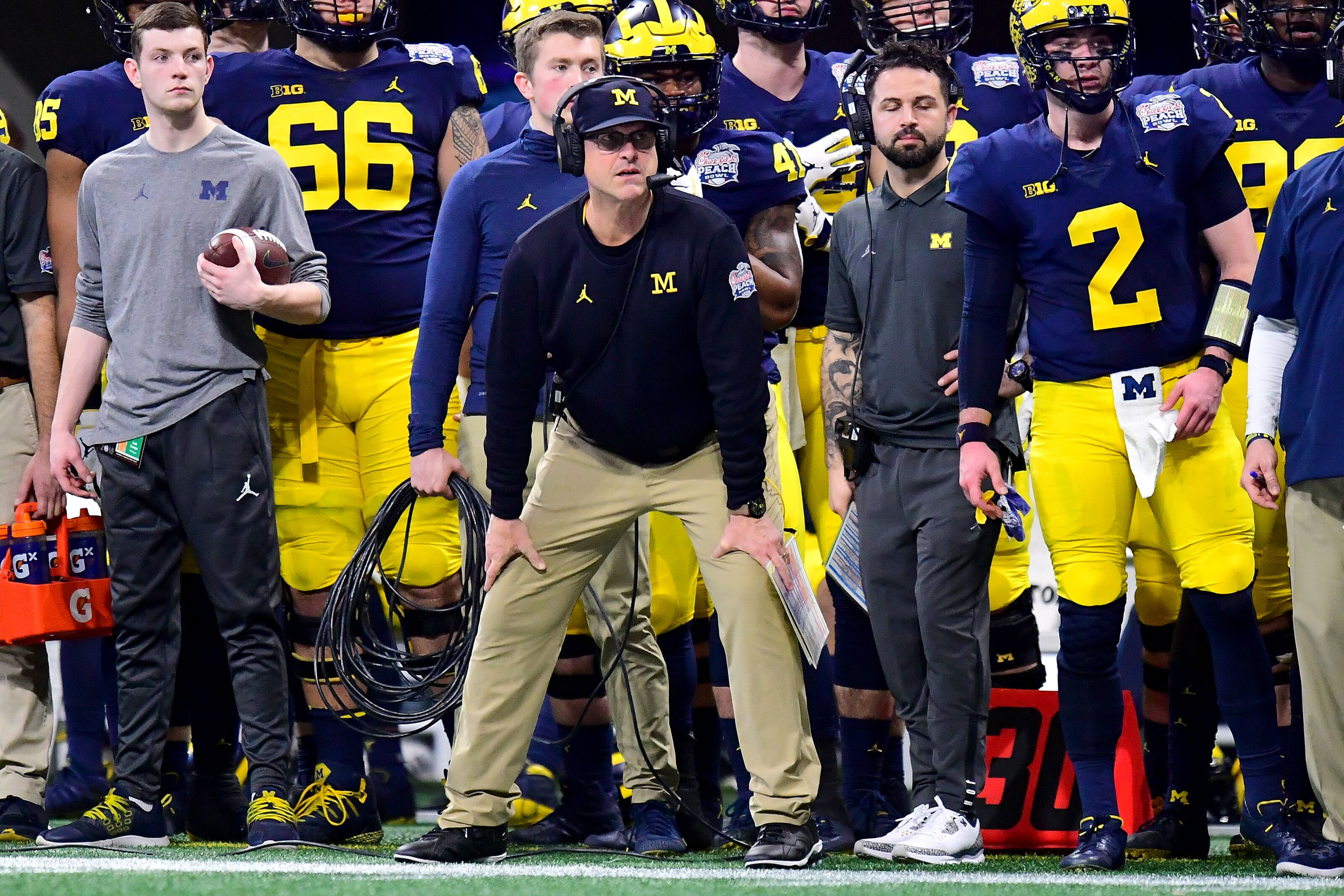 Michigan Football: Predicting the two-deep for offense after spring