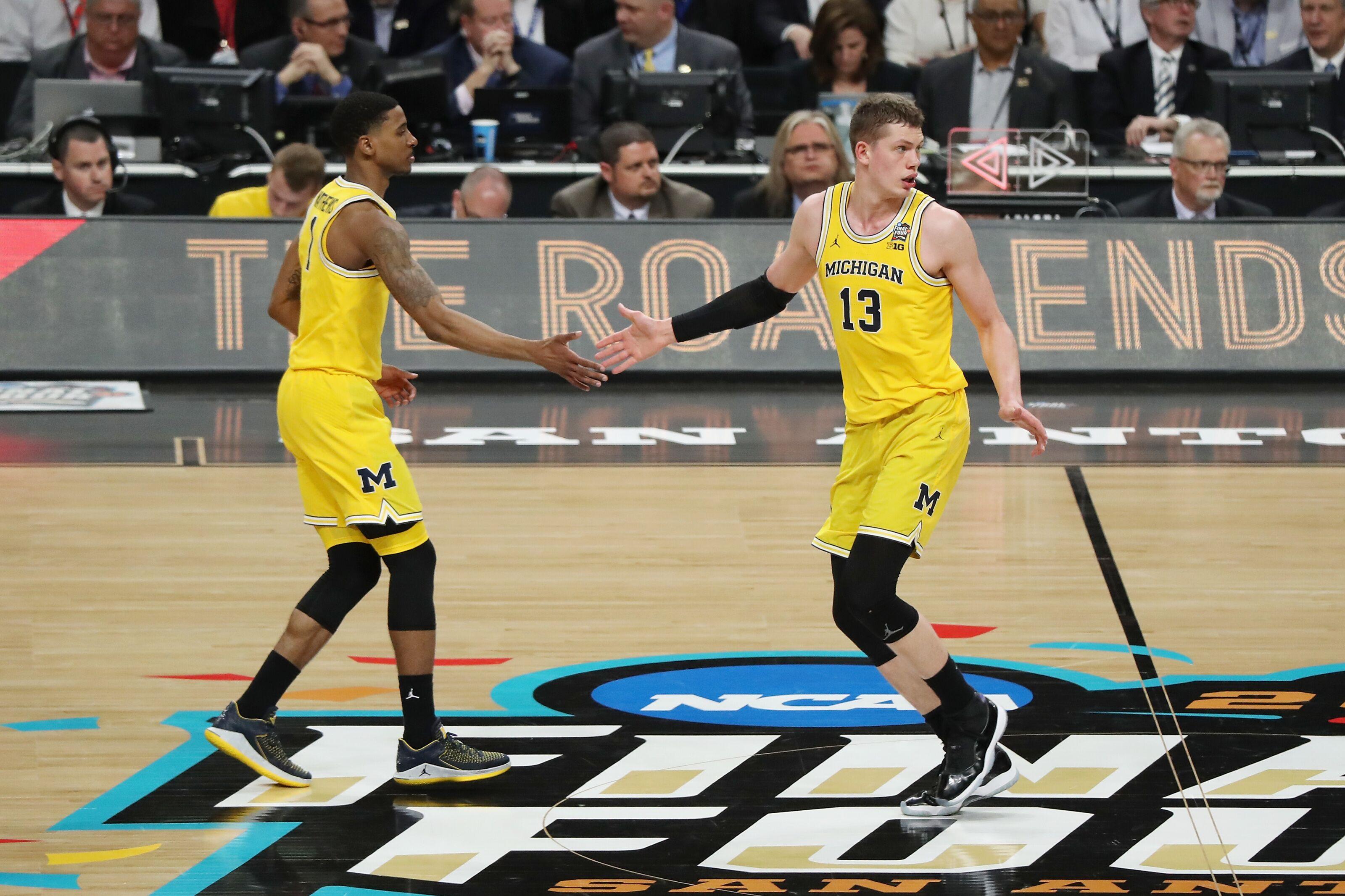 Michigan Basketball Mo Wagner And Charles Matthews Draft