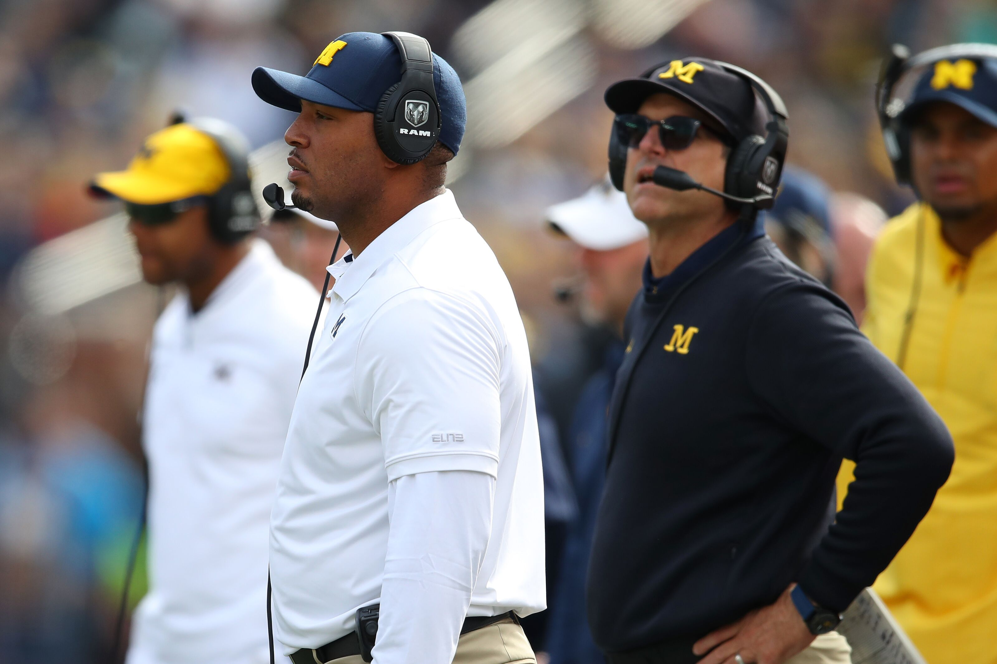 Michigan Football: Is Jim Harbaugh delusional about Wolverines offense?