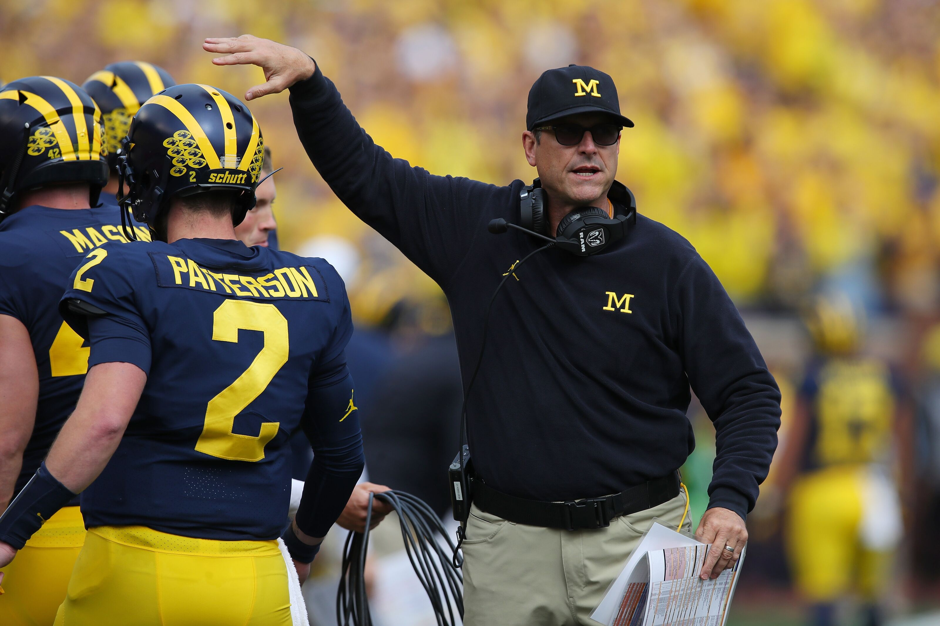 Michigan Football: Latest on 4-star Theo Johnson and possible 2020 QB