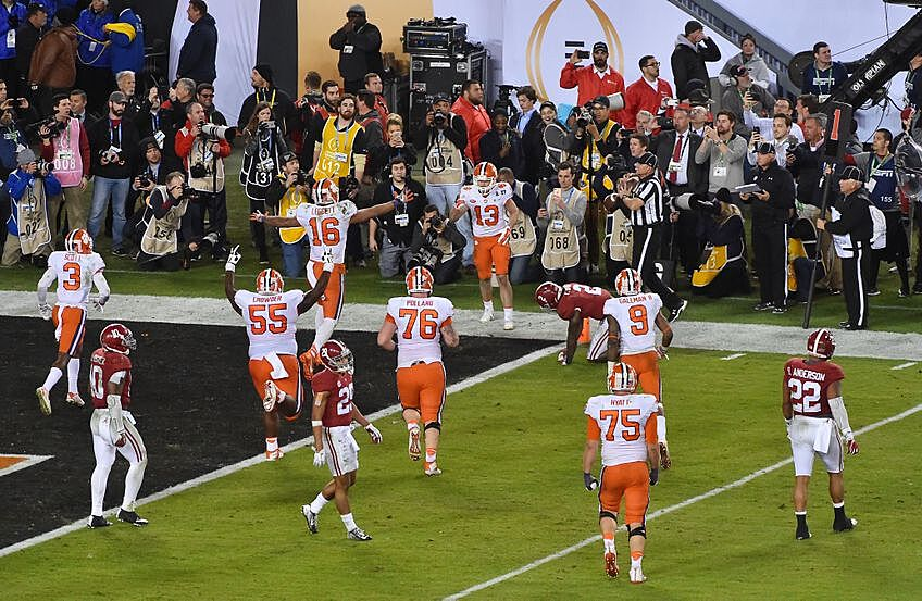 Tigers Stun the Tide in College Football Playoff National ...