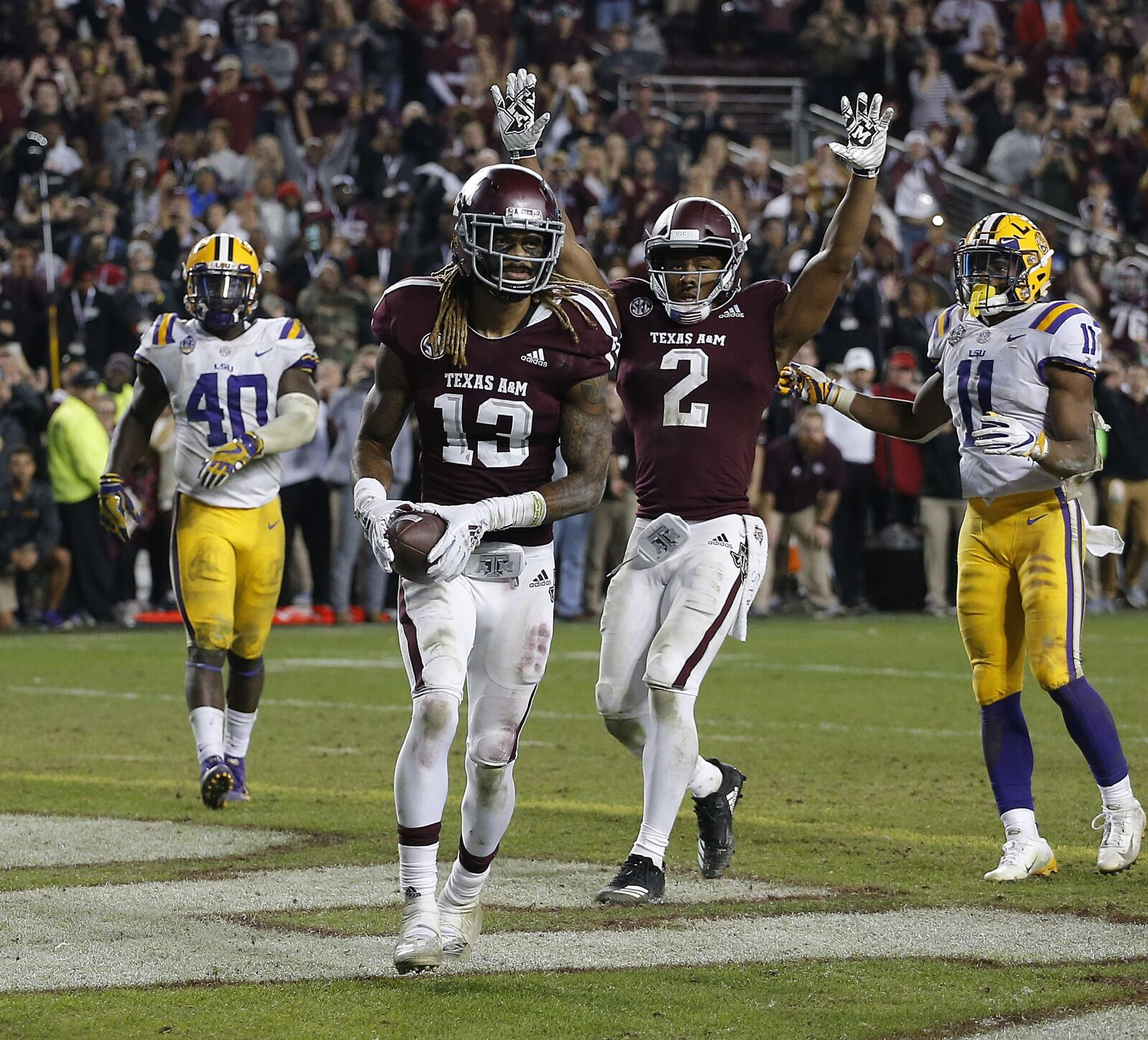 Texas A&M football: LSU fans can stop crying about officiating now