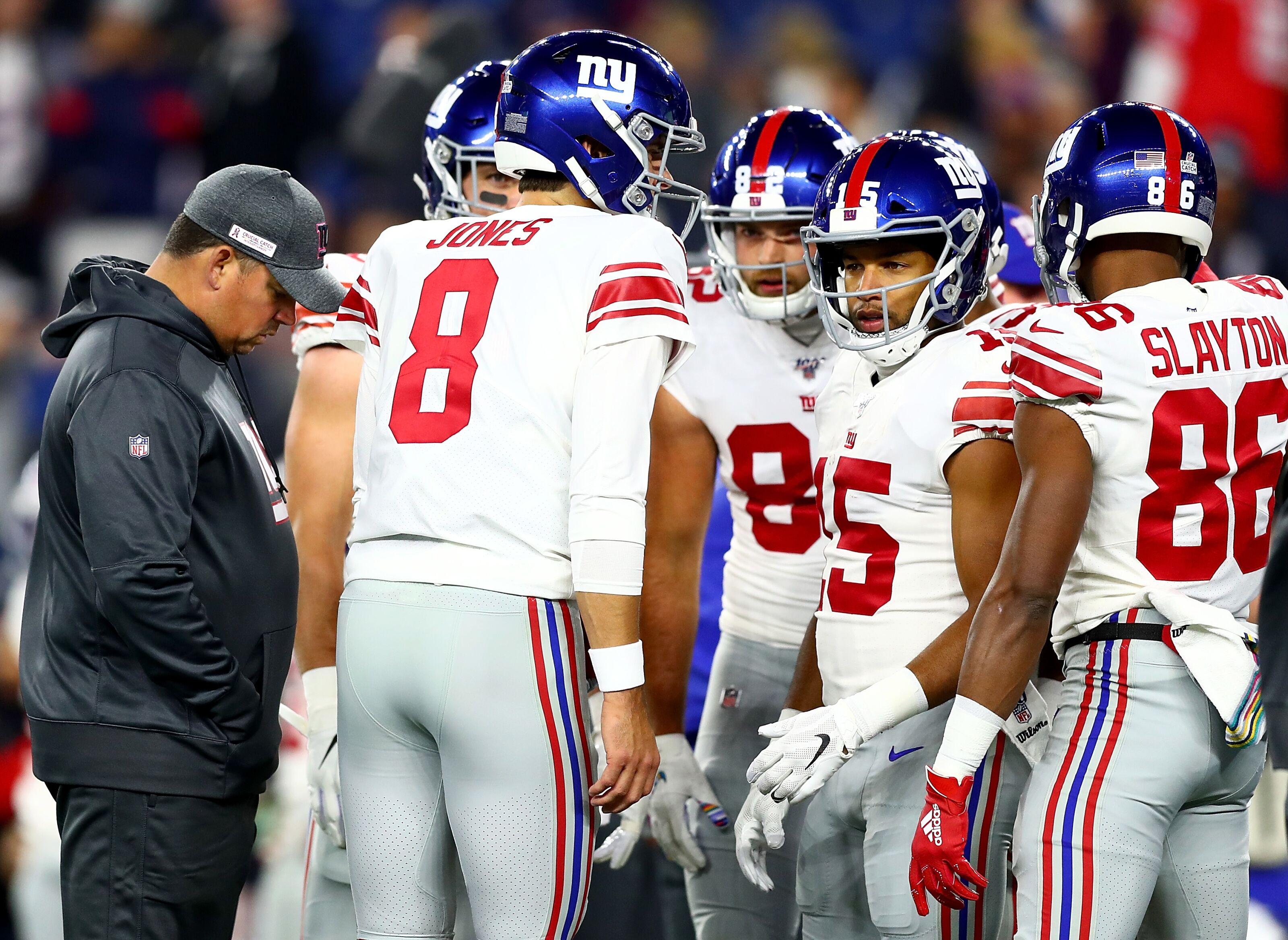 Lackluster NFC East leaves New York Giants right in the hunt