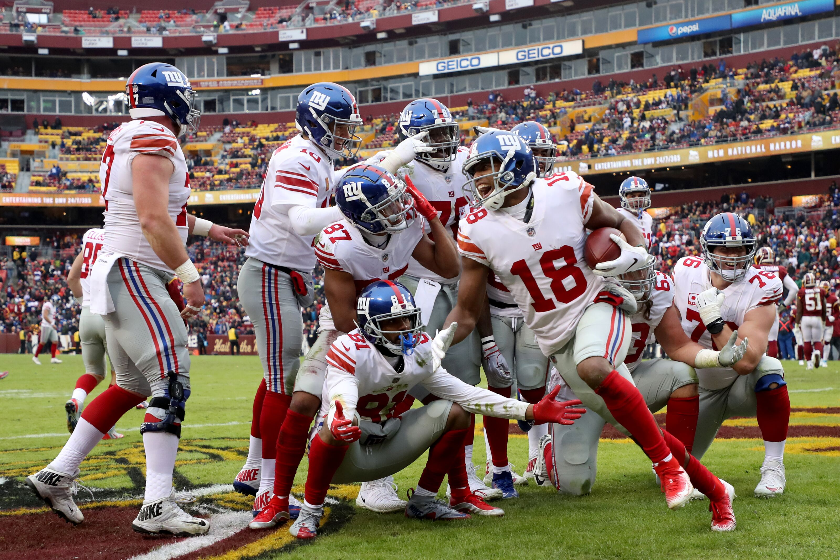 All eyes on these New York Giants receivers