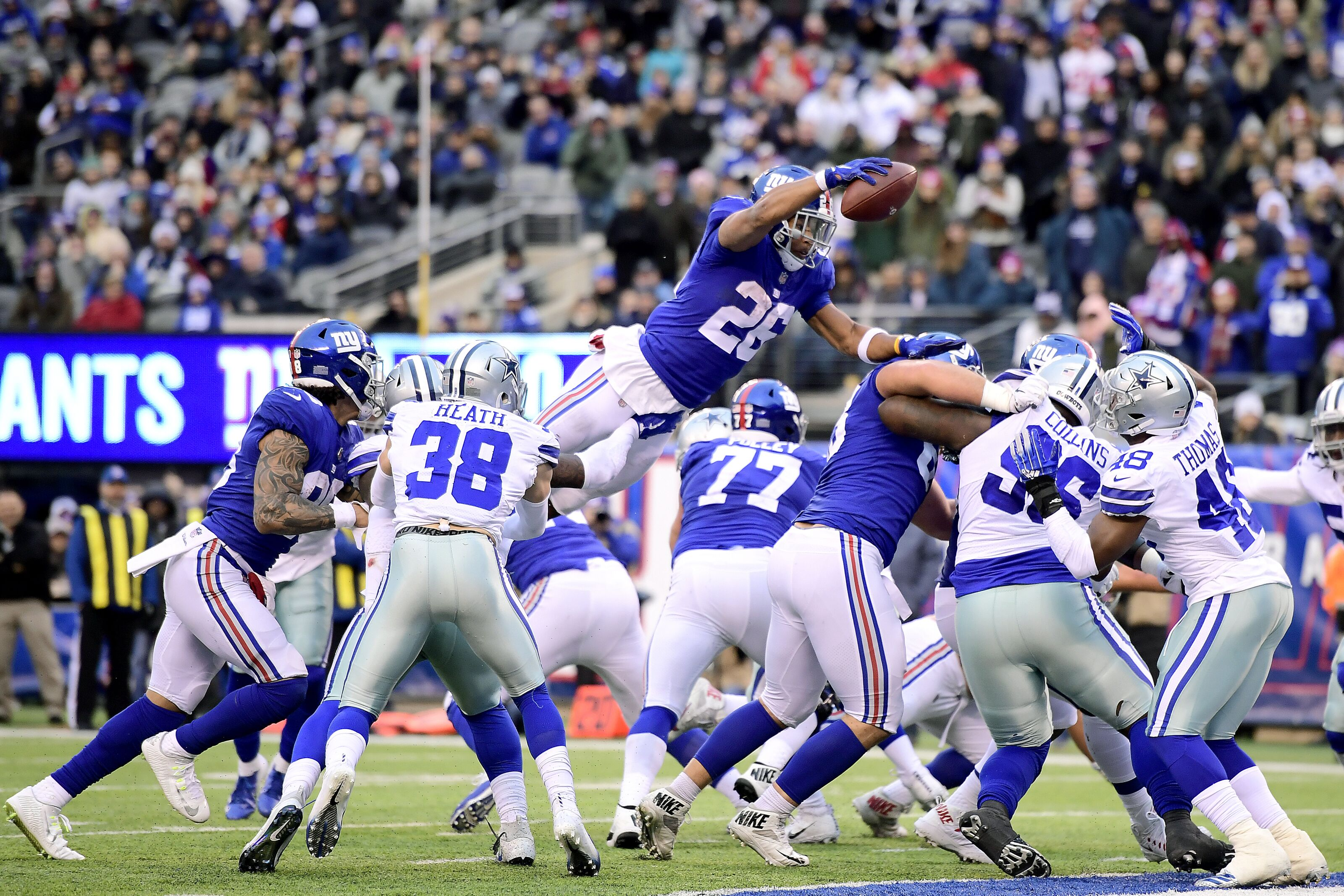 New York Giants just wasted Saquon Barkley s historic season 789d79fcd