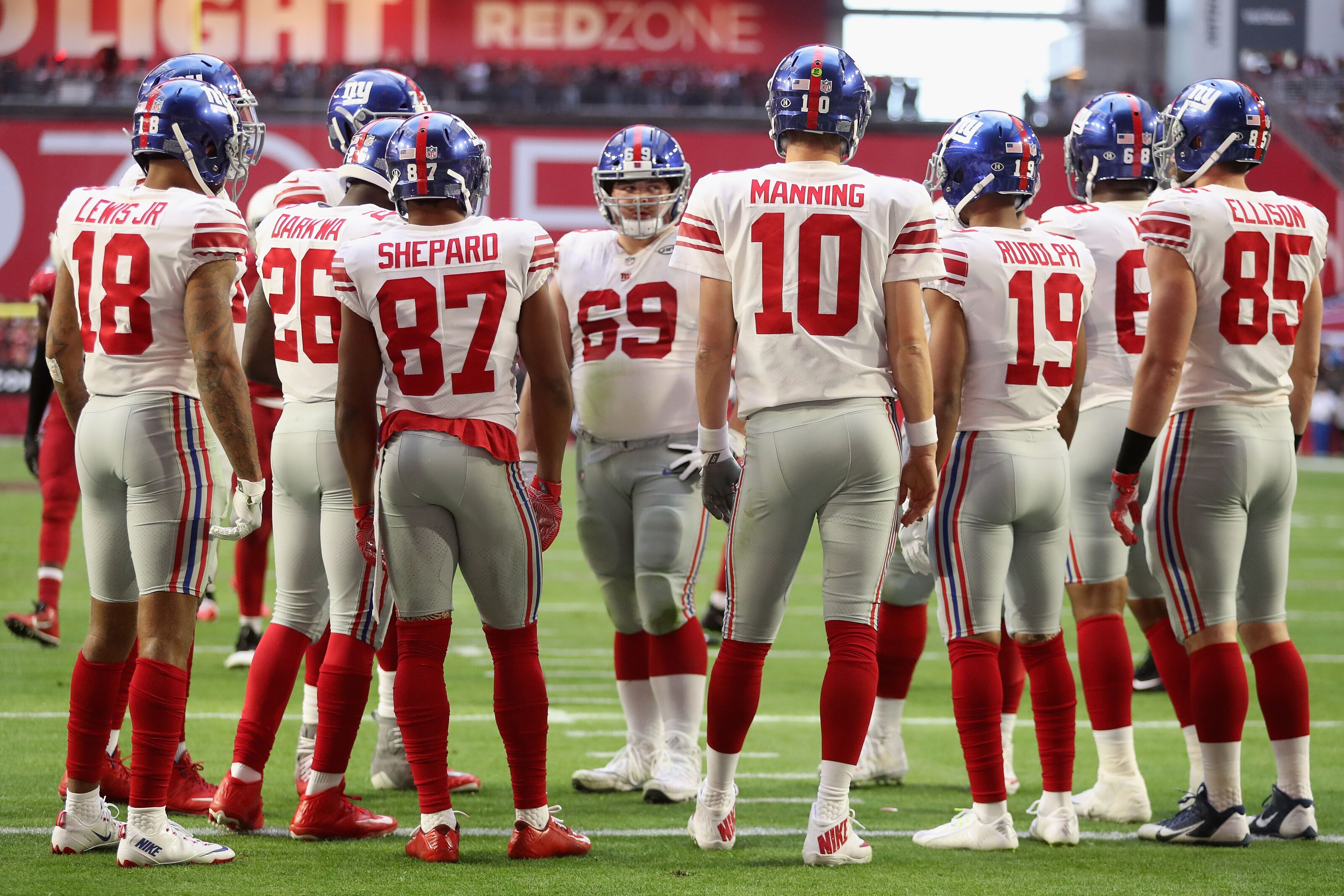 cheap for discount 98ea4 cce6f Note to New York Giants: No need to change the uniforms
