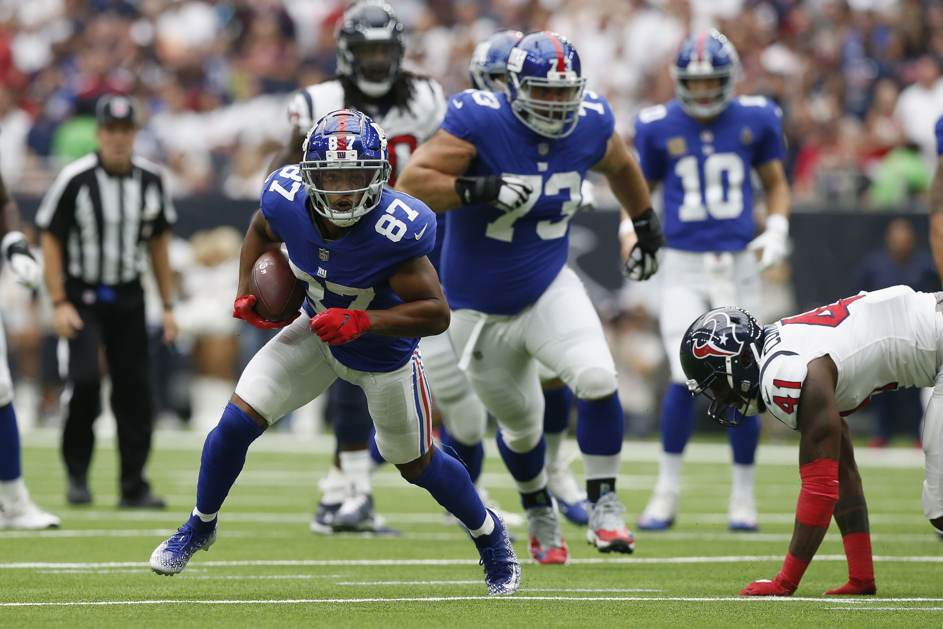 New York Giants: Sterling Shepard clears concussion protocol