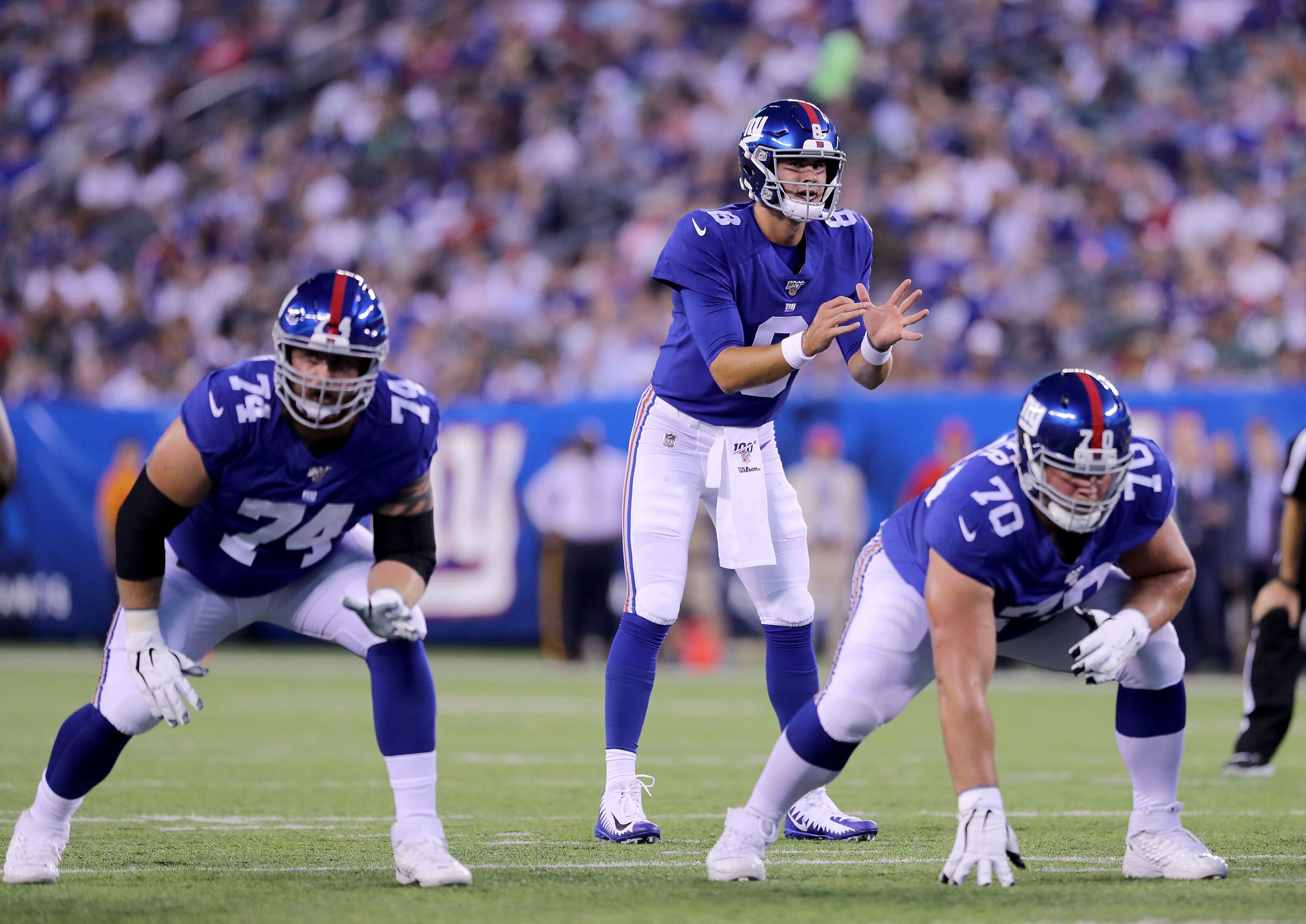 Let's have realistic expectations for Daniel Jones
