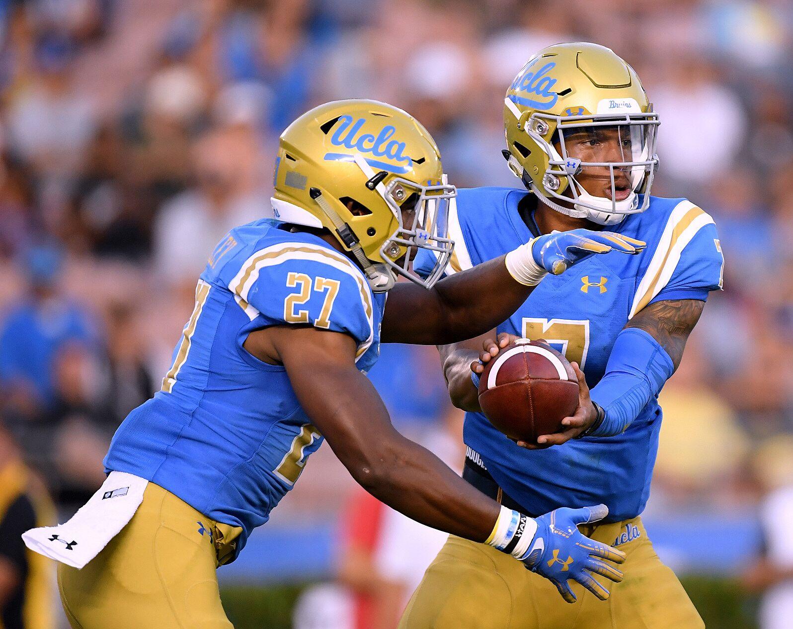 half off 94c53 6bea3 UCLA Football: Go Joe Bruin's 2018 midseason awards