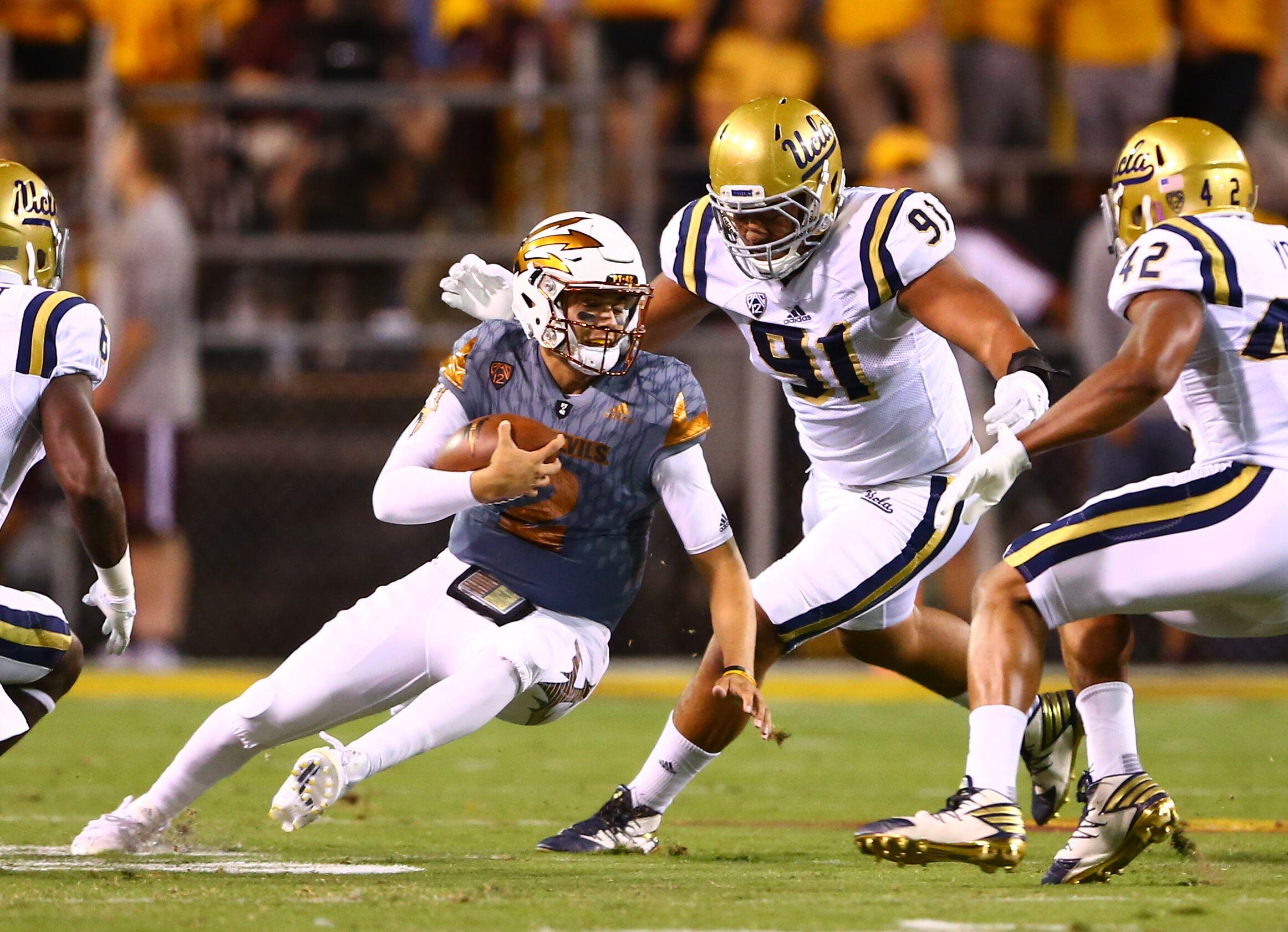 Ucla Football Team UCLA Football: Grading...
