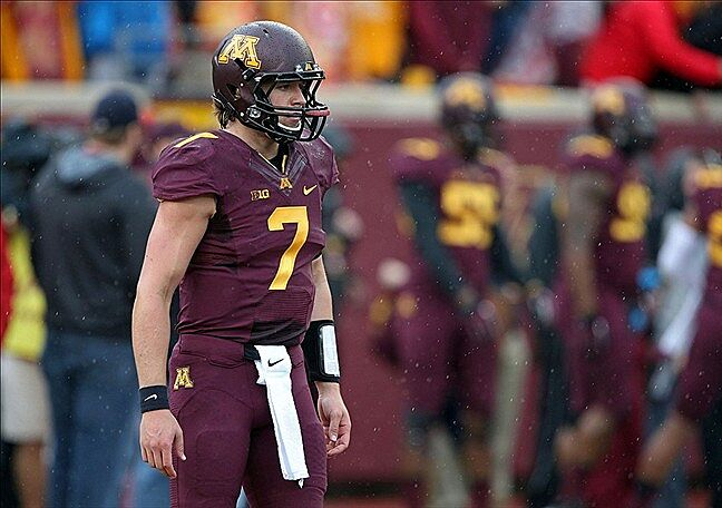 Gophers Football Injury At Third String Shakes Up Quarterback Depth Chart