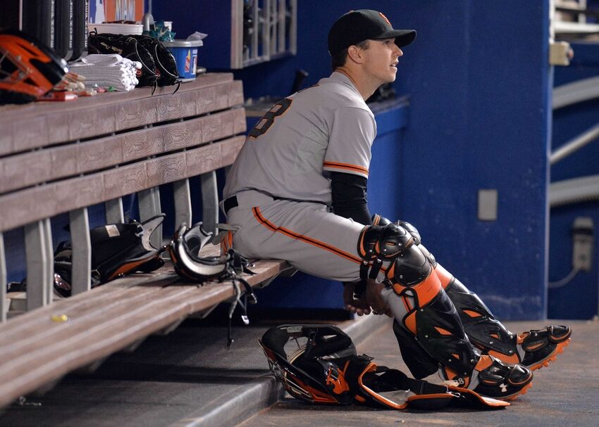 examining the san francisco giants depth chart catcher