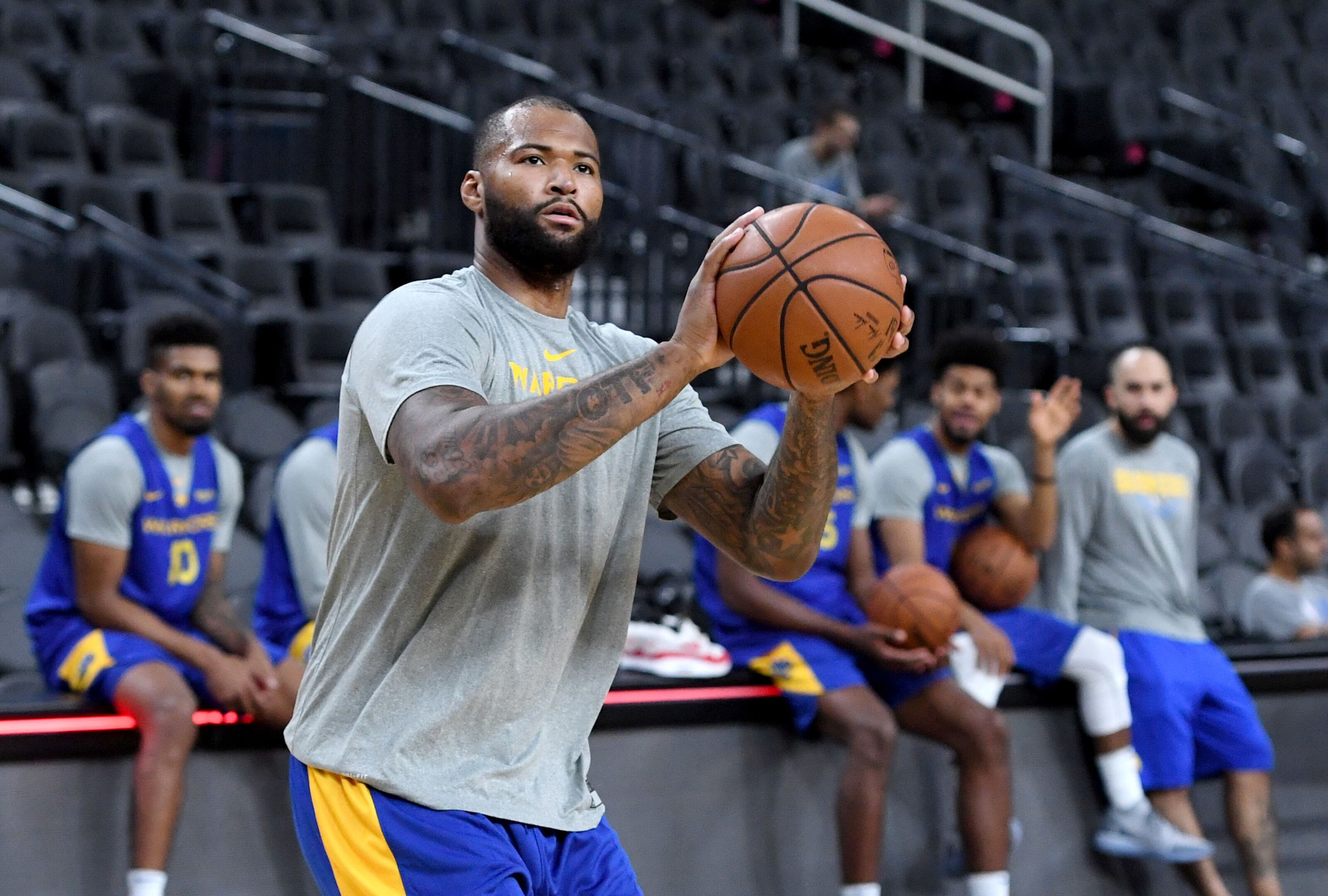 Golden State Warriors  Why would DeMarcus Cousins re-sign  f1a6f694f