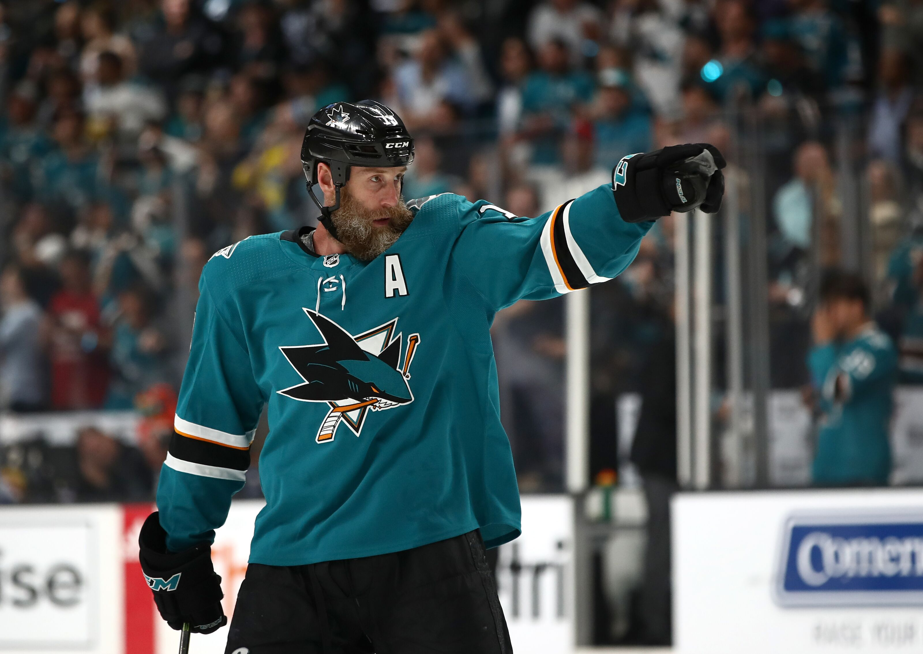 """San Jose Sharks: There is reportedly """"no doubt"""" that Joe Thornton will re-sign"""