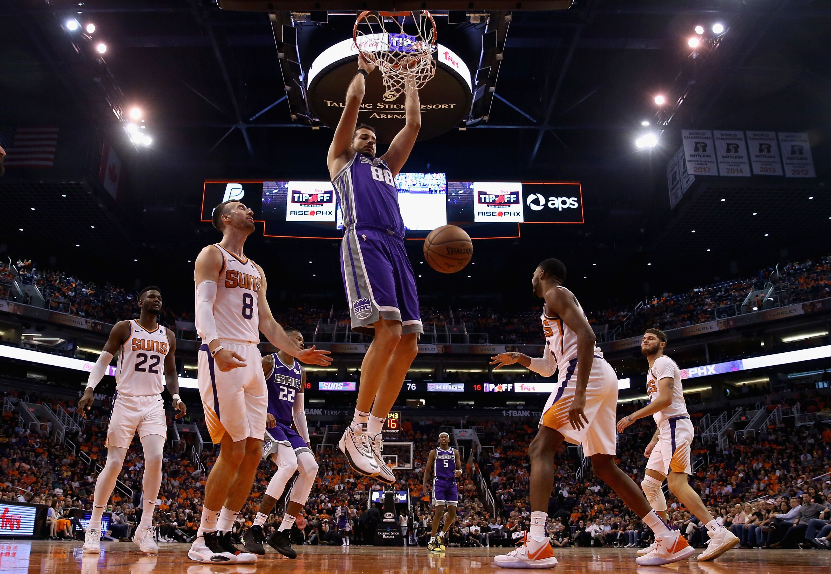 Sacramento Kings: Nemanja Bjelica flourishing in an increased role