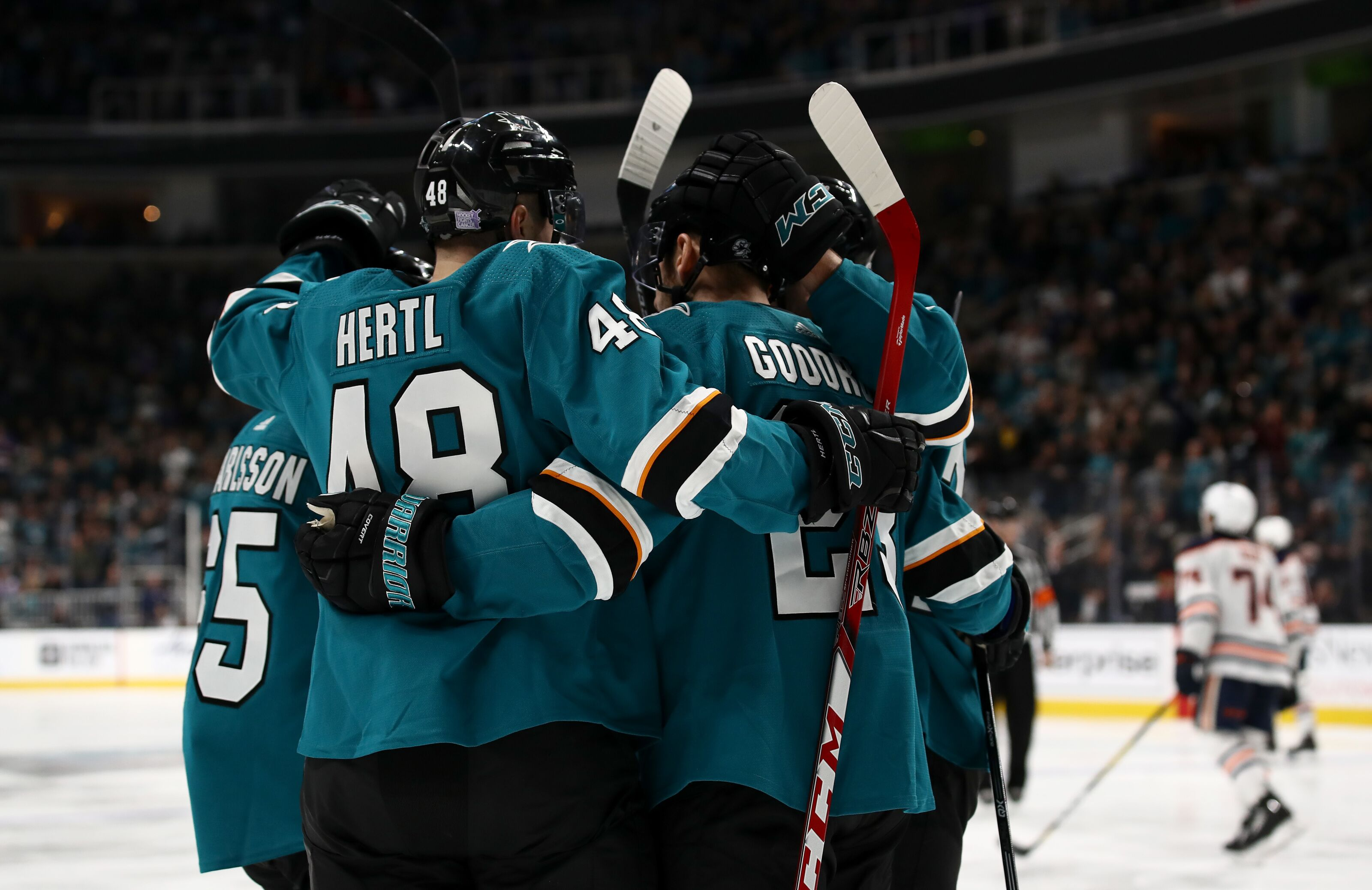 San Jose Sharks play their best game of the season and pass early-season test