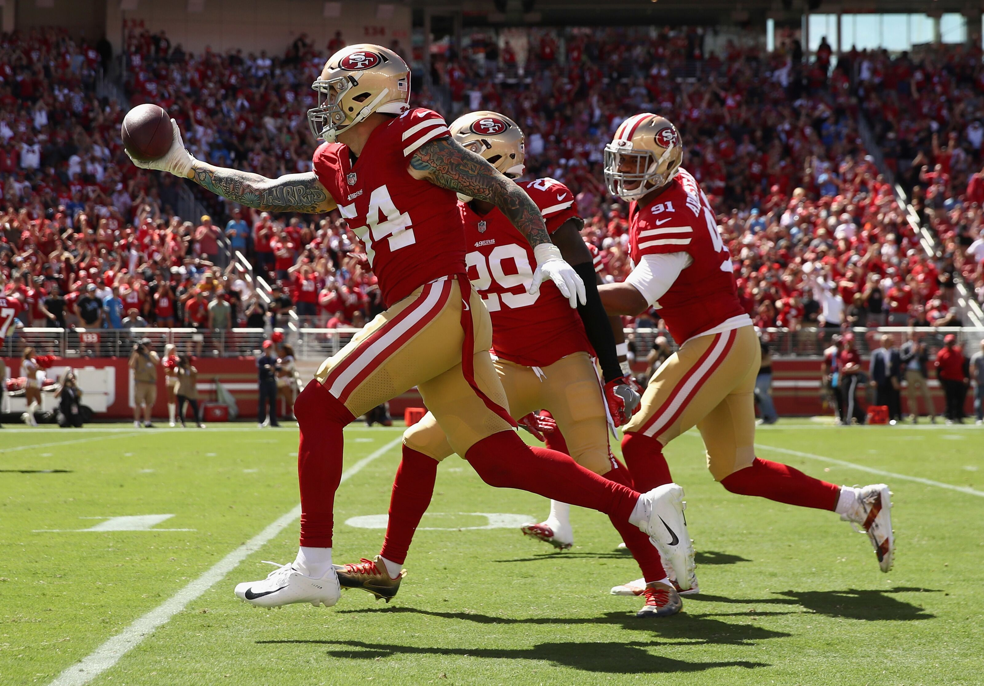 fff23c7668a San Francisco 49ers  Turnovers lead to sloppy loss to Arizona Cardinals