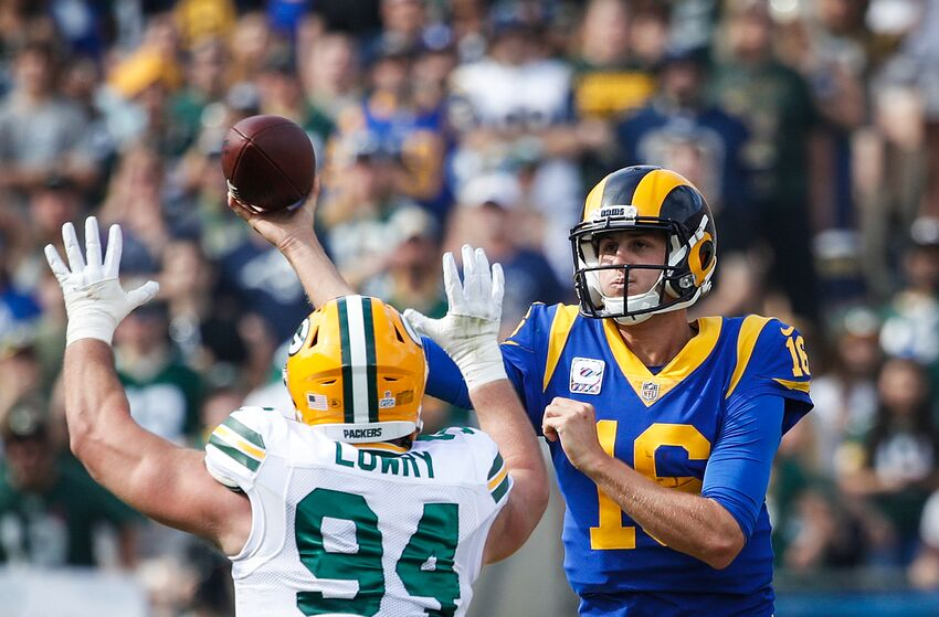 250ca4ce Cal Football in the NFL: Former Golden Bear QBs Battle in LA