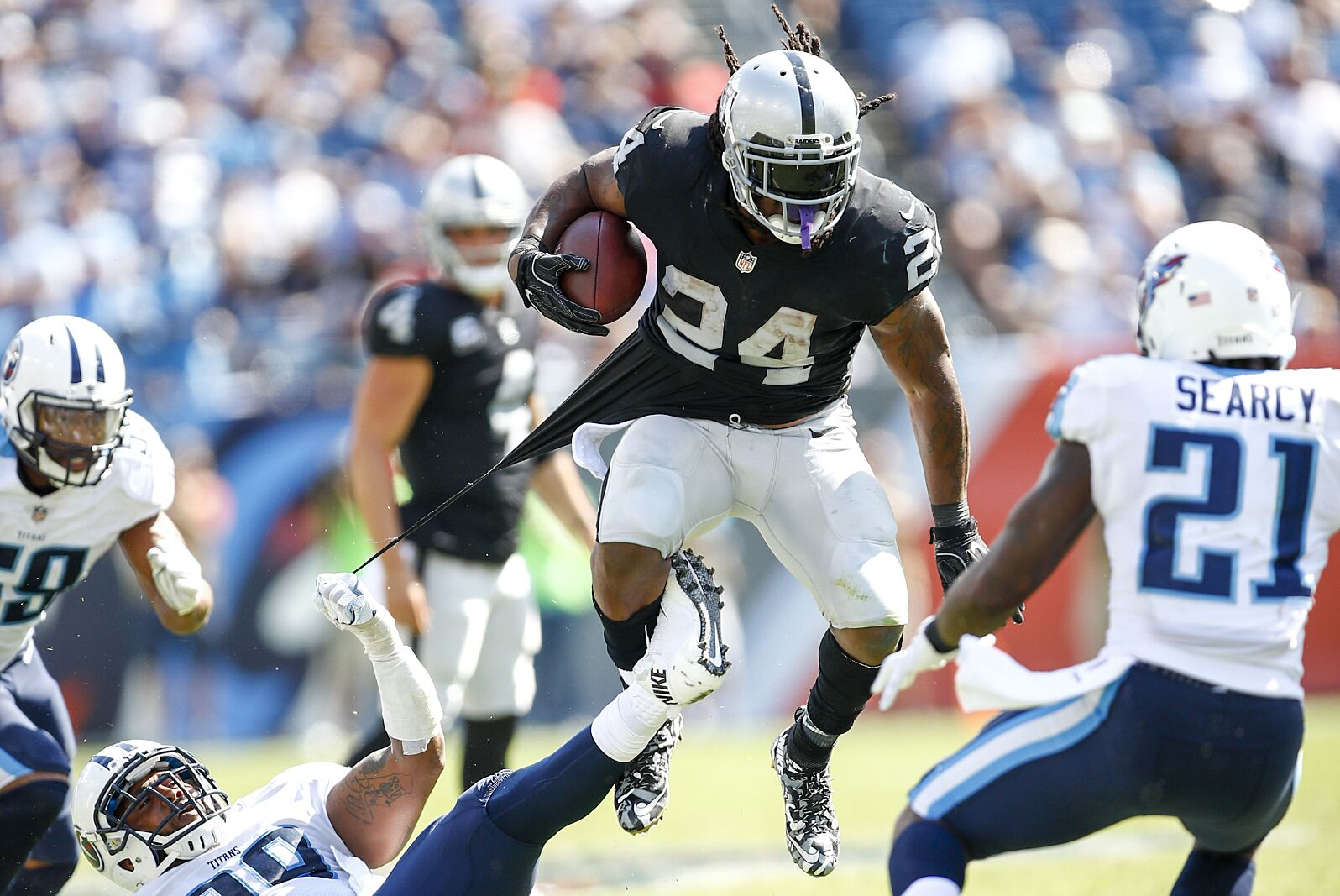 19aa68a0e Oakland Raiders  Stacking up the running backs against the AFC West