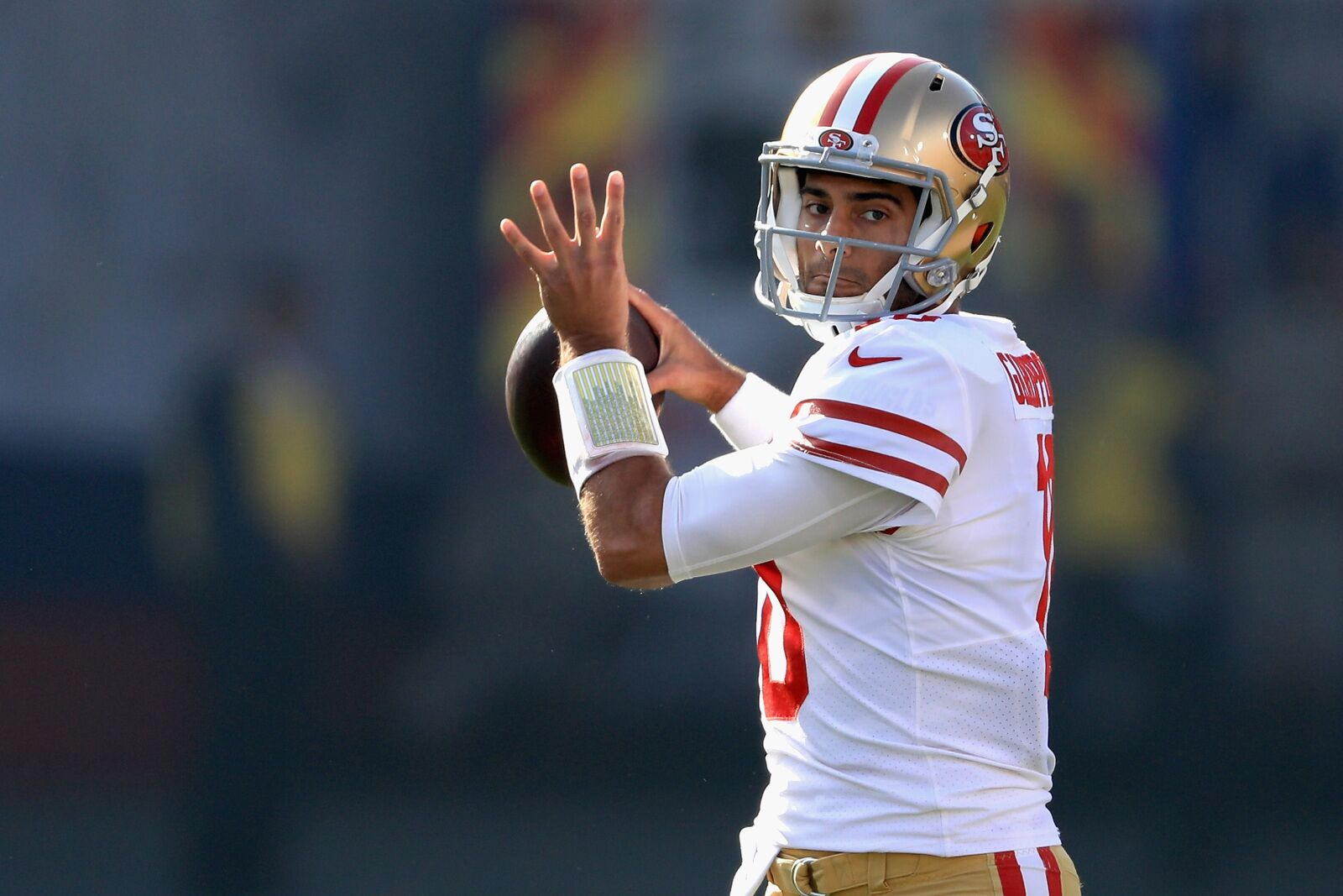 c33bef01c San Francisco 49ers  Garoppolo overrated and the product of a system