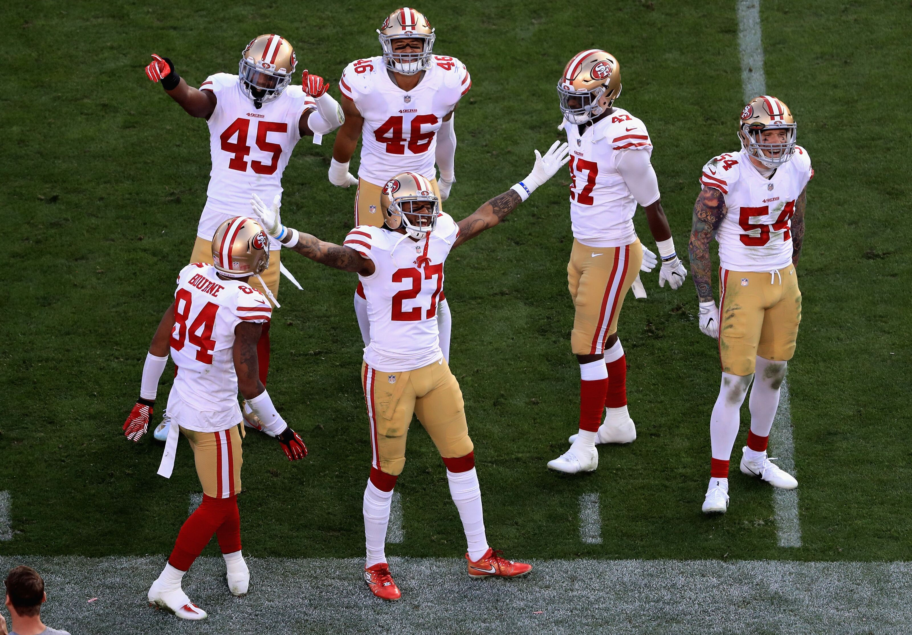 buy online 15b6b f9b58 San Francisco 49ers 2018 schedule breakdown and predictions