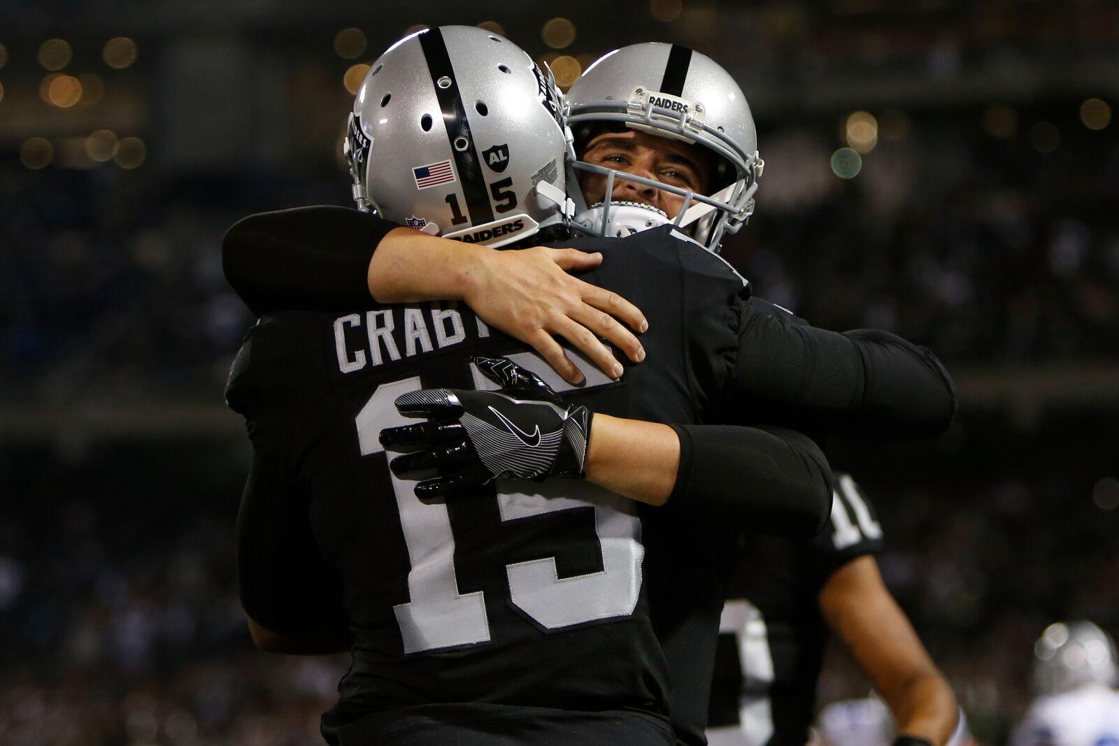 Raiders: Could signing Michael Crabtree save Derek Carr's season?