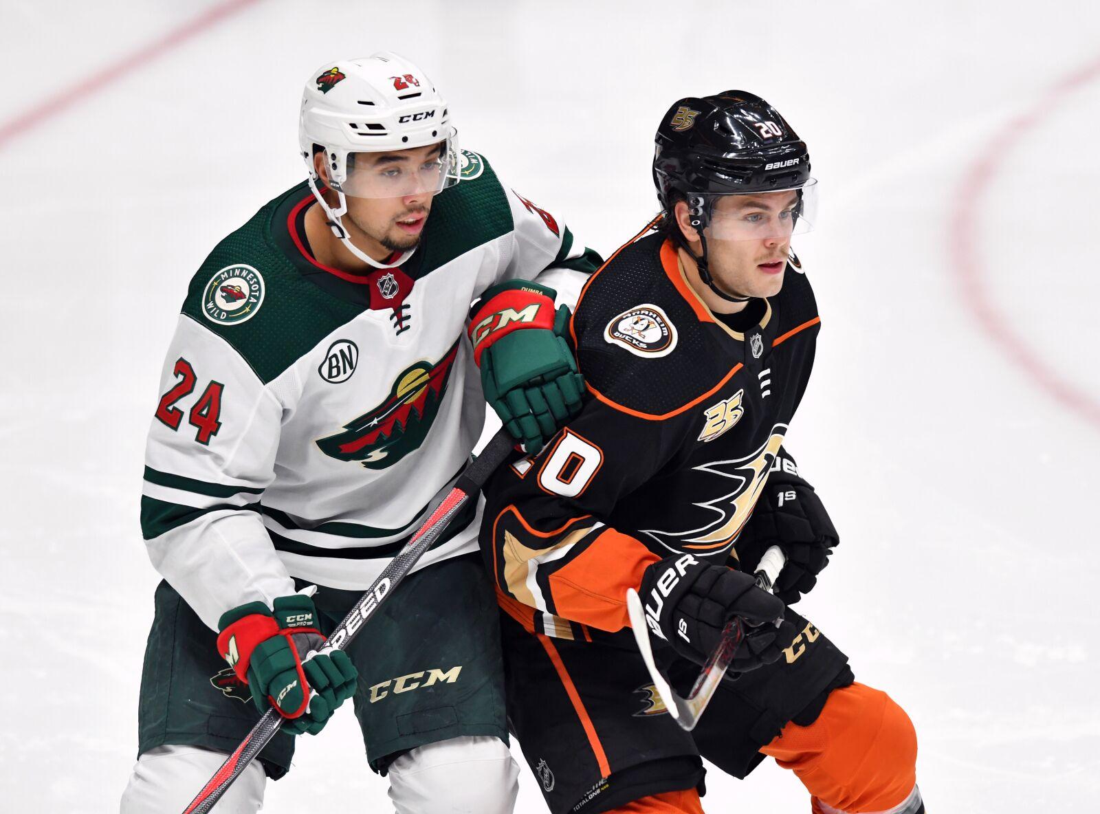 Minnesota Wild: Pontus Aberg traded one-for-one from Anaheim Ducks