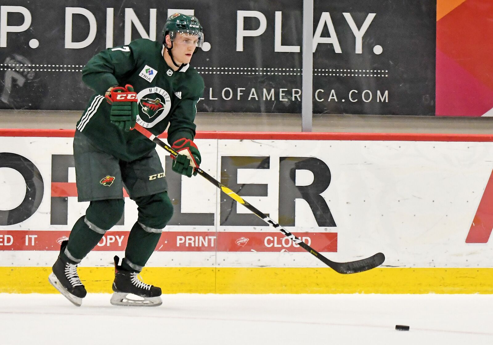 Wild News & Notes: Wild drop first game in Traverse City