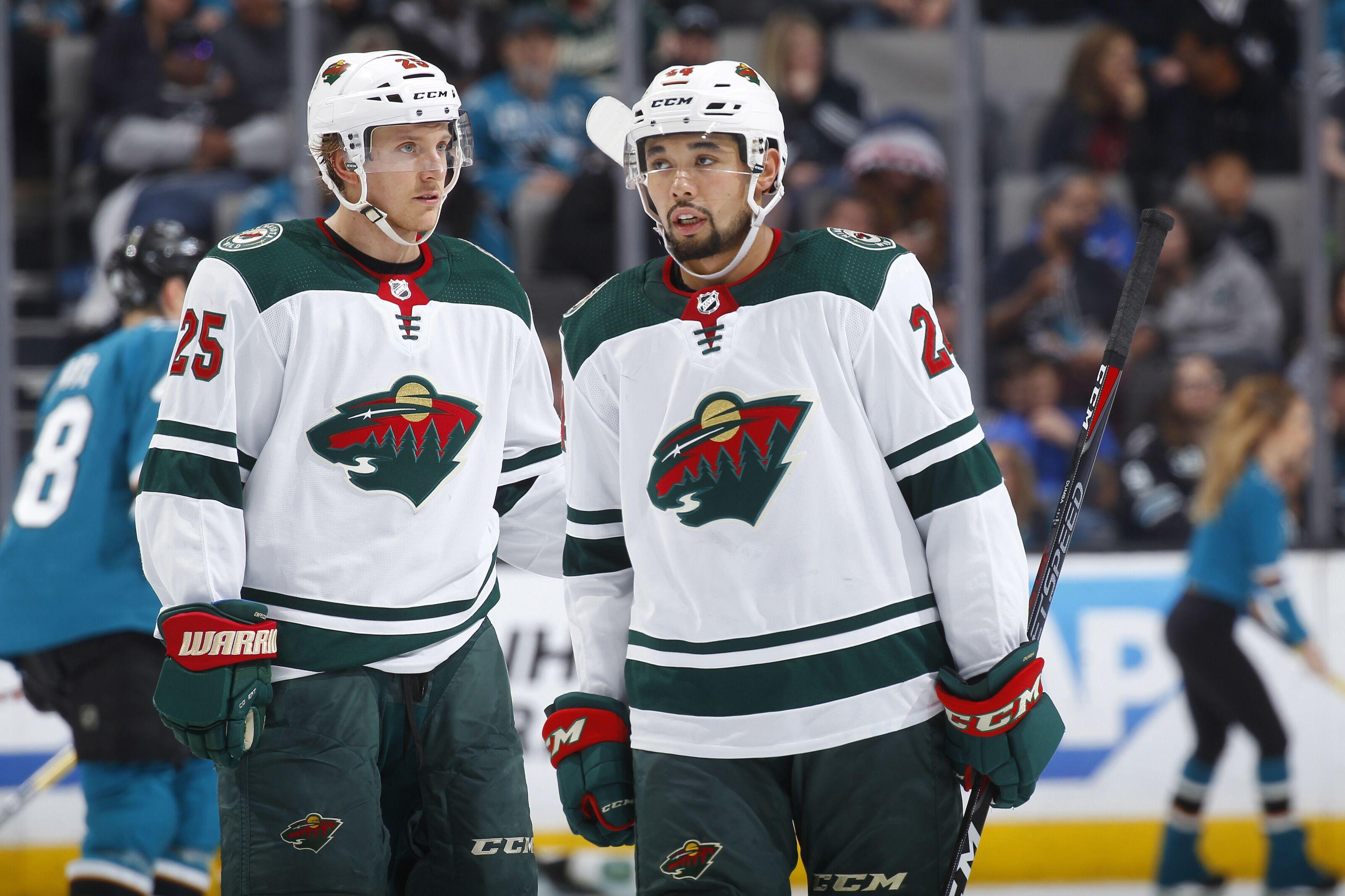 Minnesota Wild  Time to end the Matt Dumba and Jonas Brodin pairing 3836fb0ae