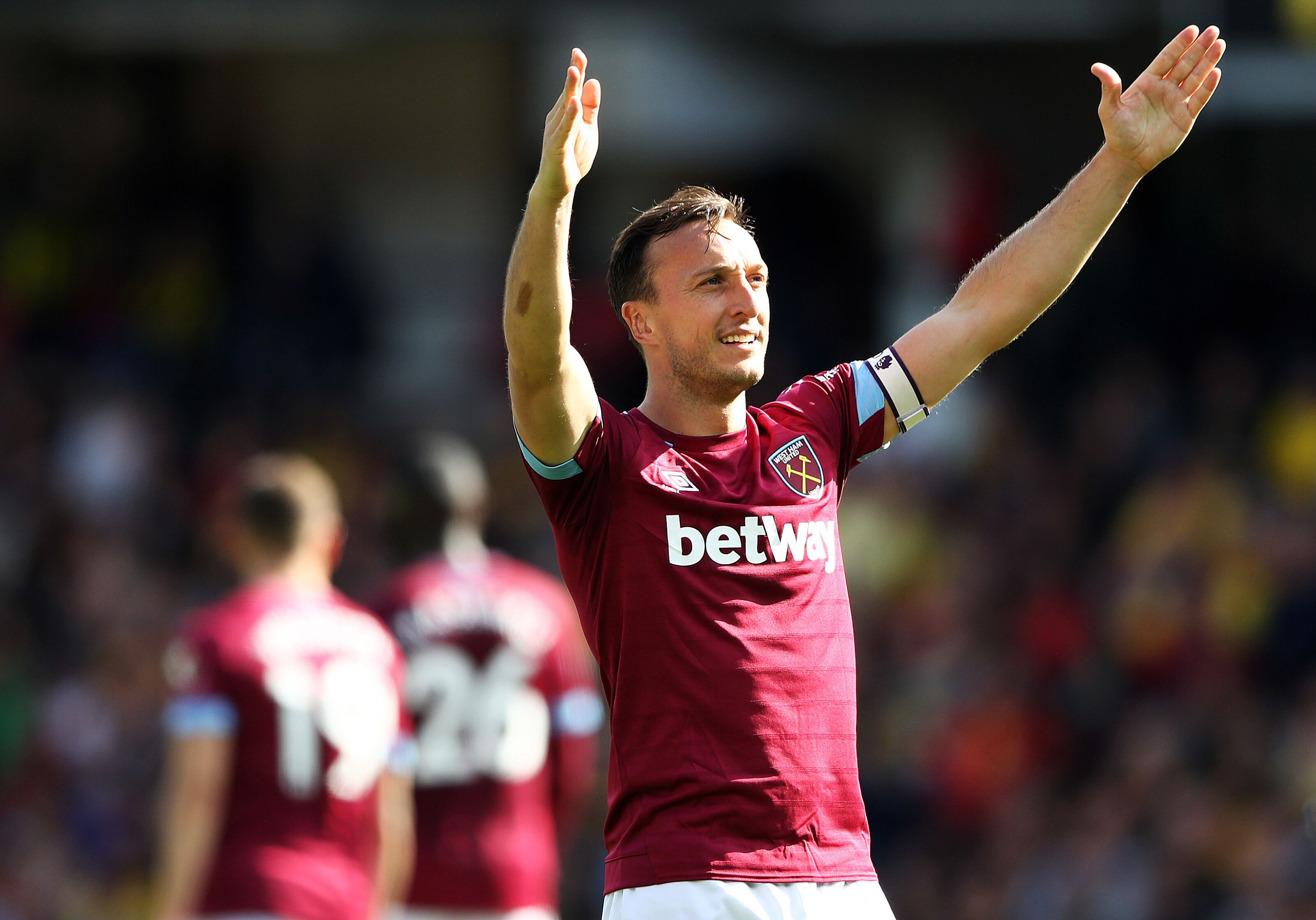 Mark Noble ends season with a bang for West Ham