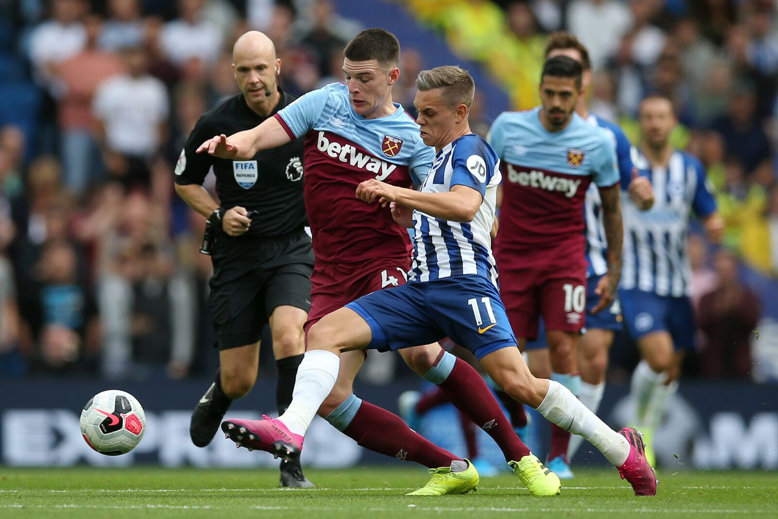West Ham steal a point as Brighton dictate play